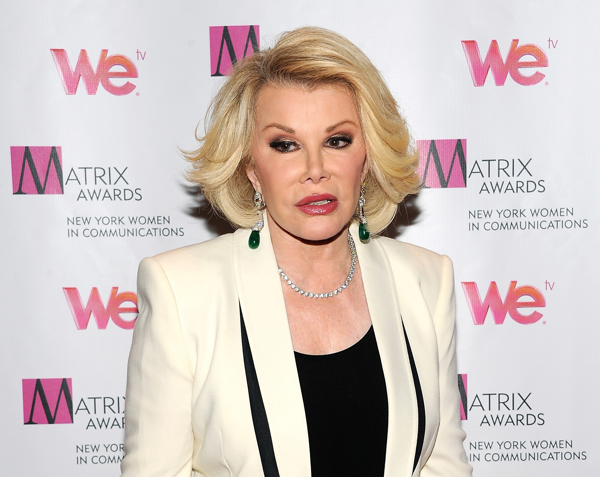 Joan Rivers is being sued for $15 million by a former neighbor in her luxury New York apartment building.