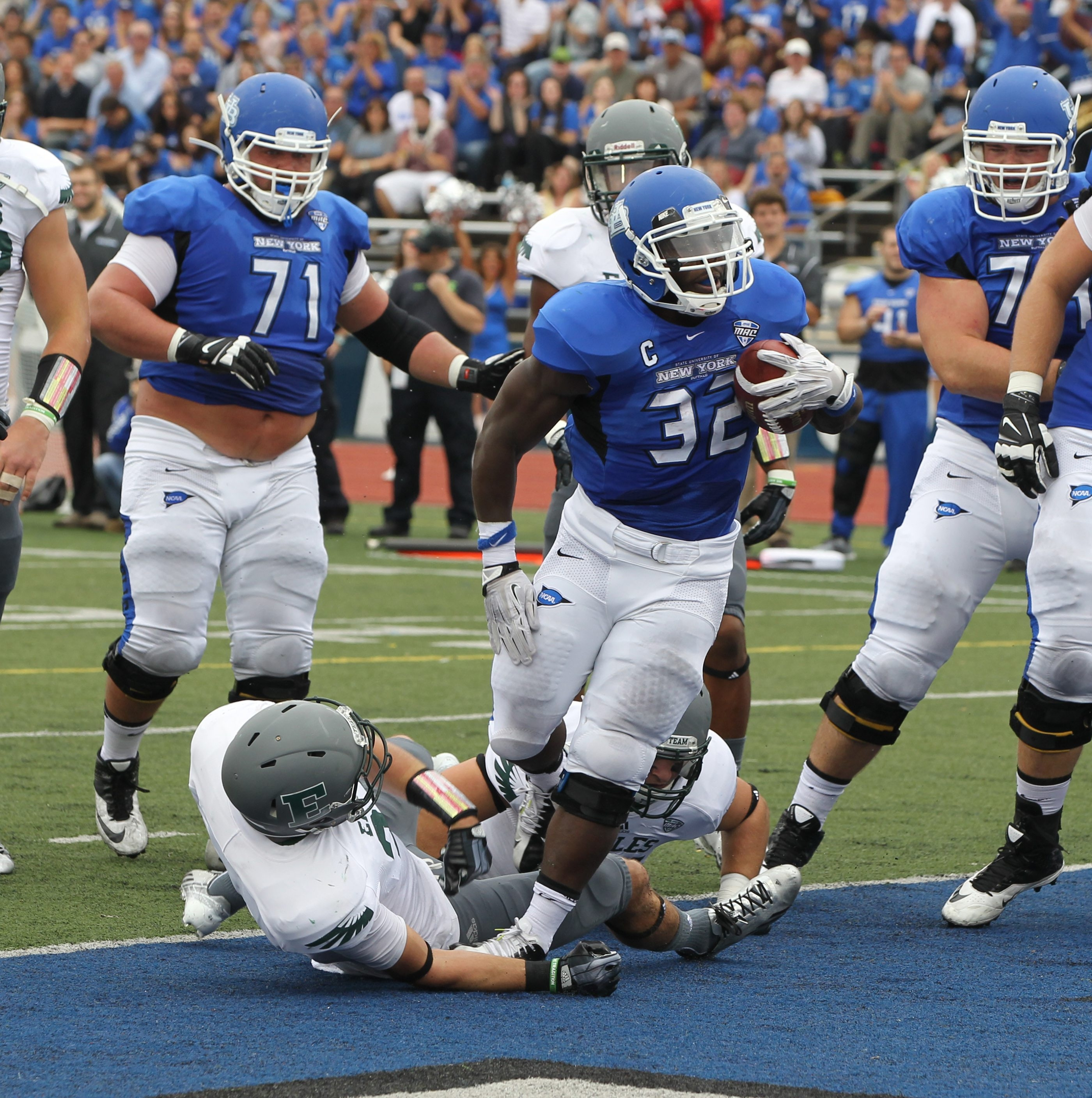 UB running back Branden Oliver was named offensive Player of the Week in the MAC East.