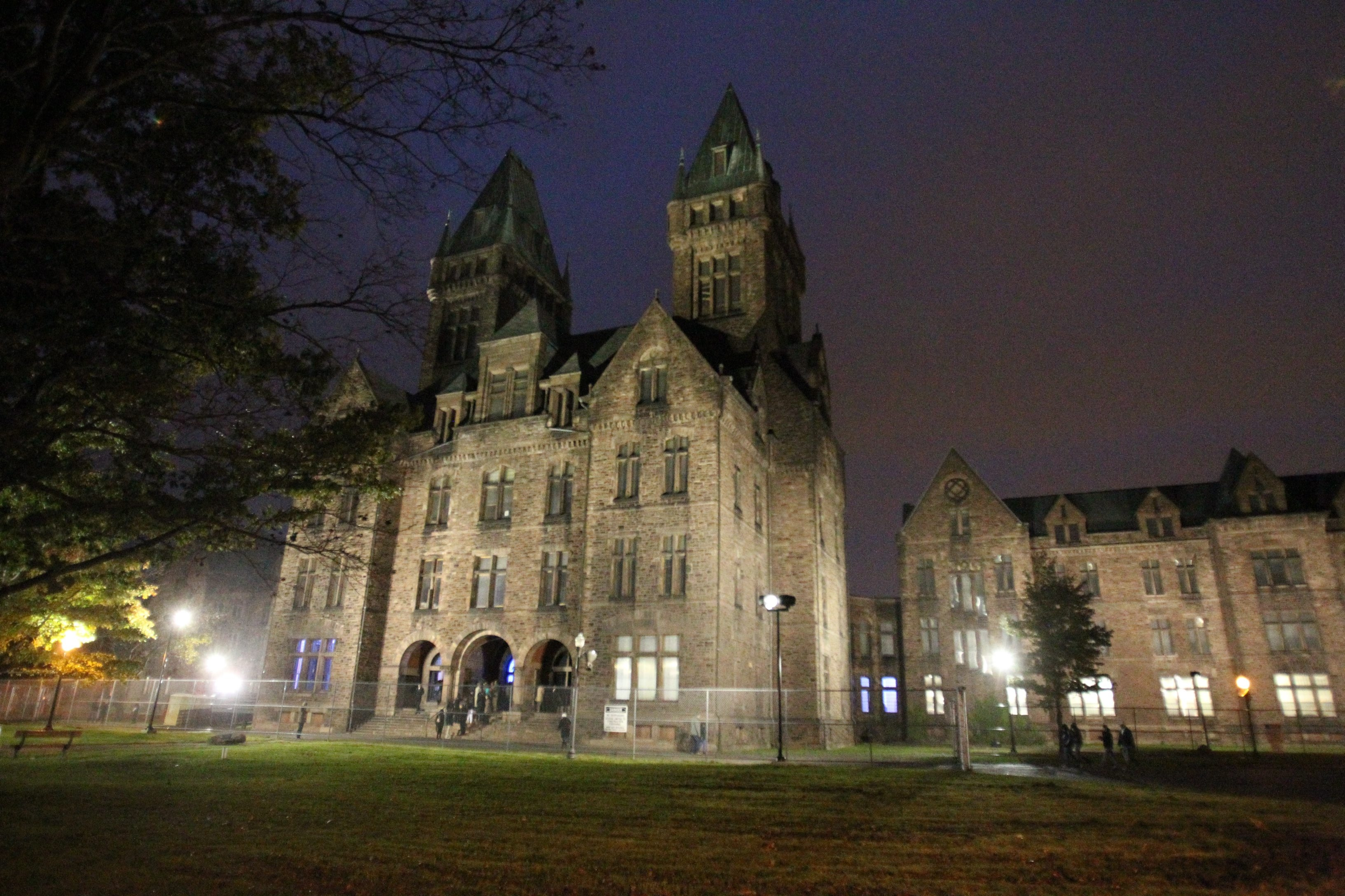 "The Richardson Olmsted Complex will be open late tonight as part of ""Museums by Moonlight."" Photo by James P. McCoy / Buffalo News"