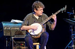 Bela Fleck and five fellow advocates for the banjo performed in Asbury Hall on Thursday.