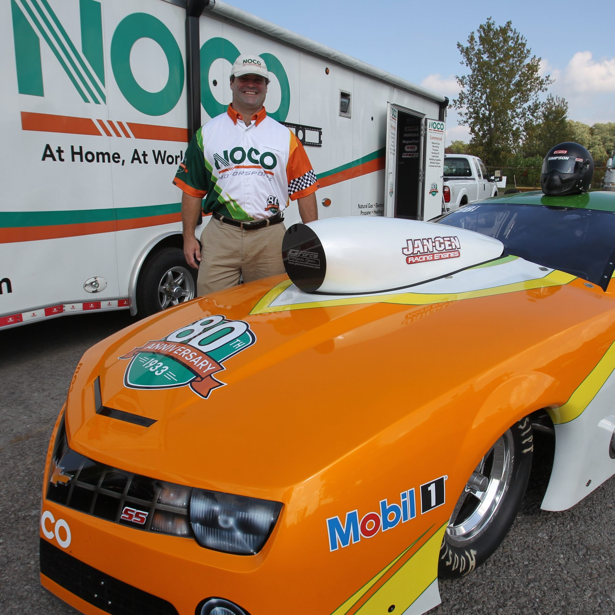 In addition to driving, Dan Flanigan of Tonawanda is the director of NOCO Motorsports.