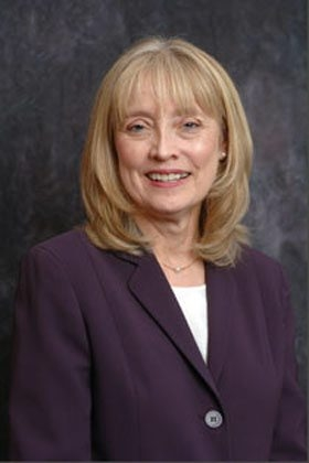 Cynthia Zane, president of Hilbert College. Image from the web.