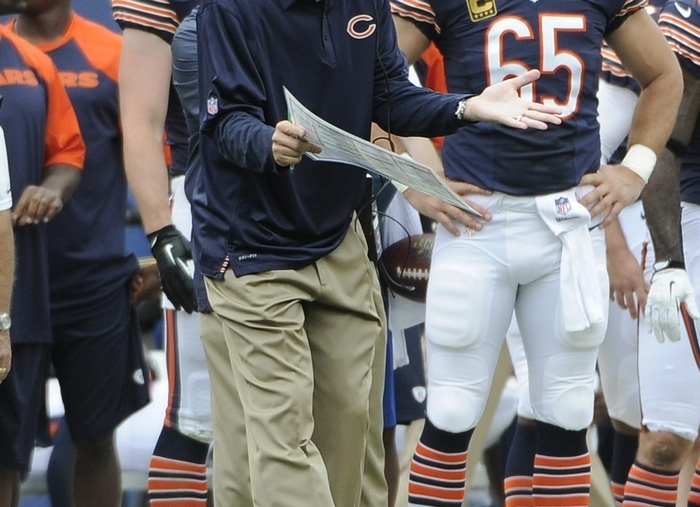 Chicago Bears coach Marc Trestman has made 13 coaching stops in the NFL, college and CFL in 30 years. (Getty Images)