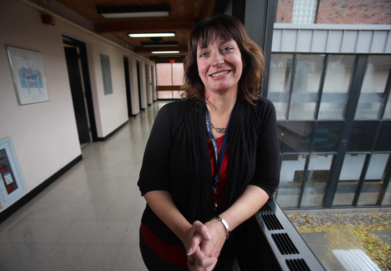 Antoinette Steinbarth is part of Crisis Services' outreach team.