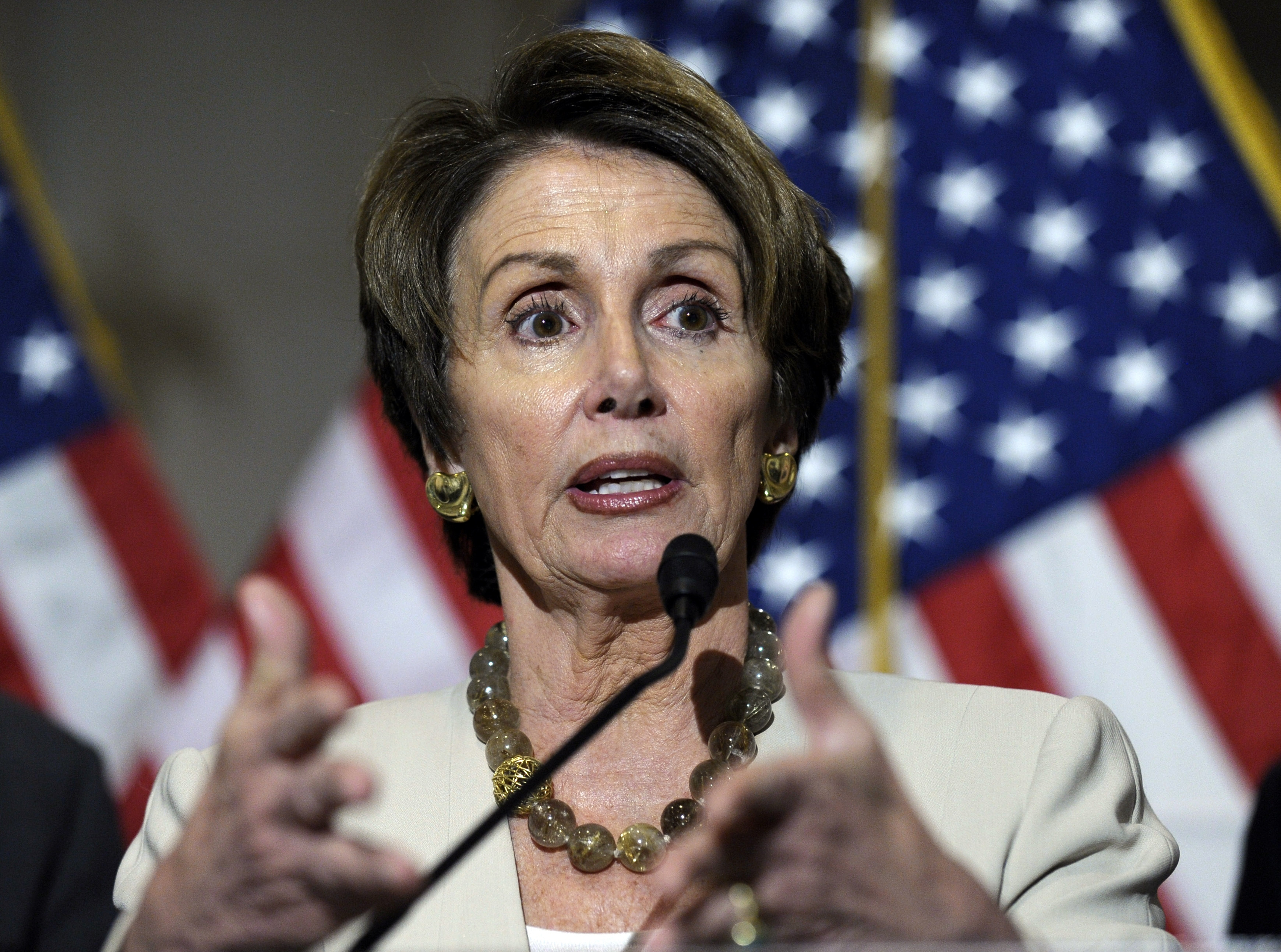 House Minority Leader Nancy Pelosi, D-Calif., insists Democrats are united behind the Affordable Care Act.