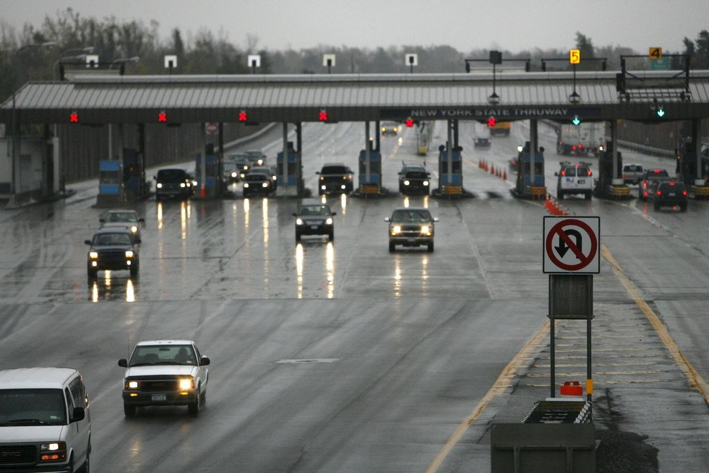 Last year $100 million of the tolls paid by drivers using the Thruway was diverted to subsidize the state's canal system. (Buffalo News file photo)