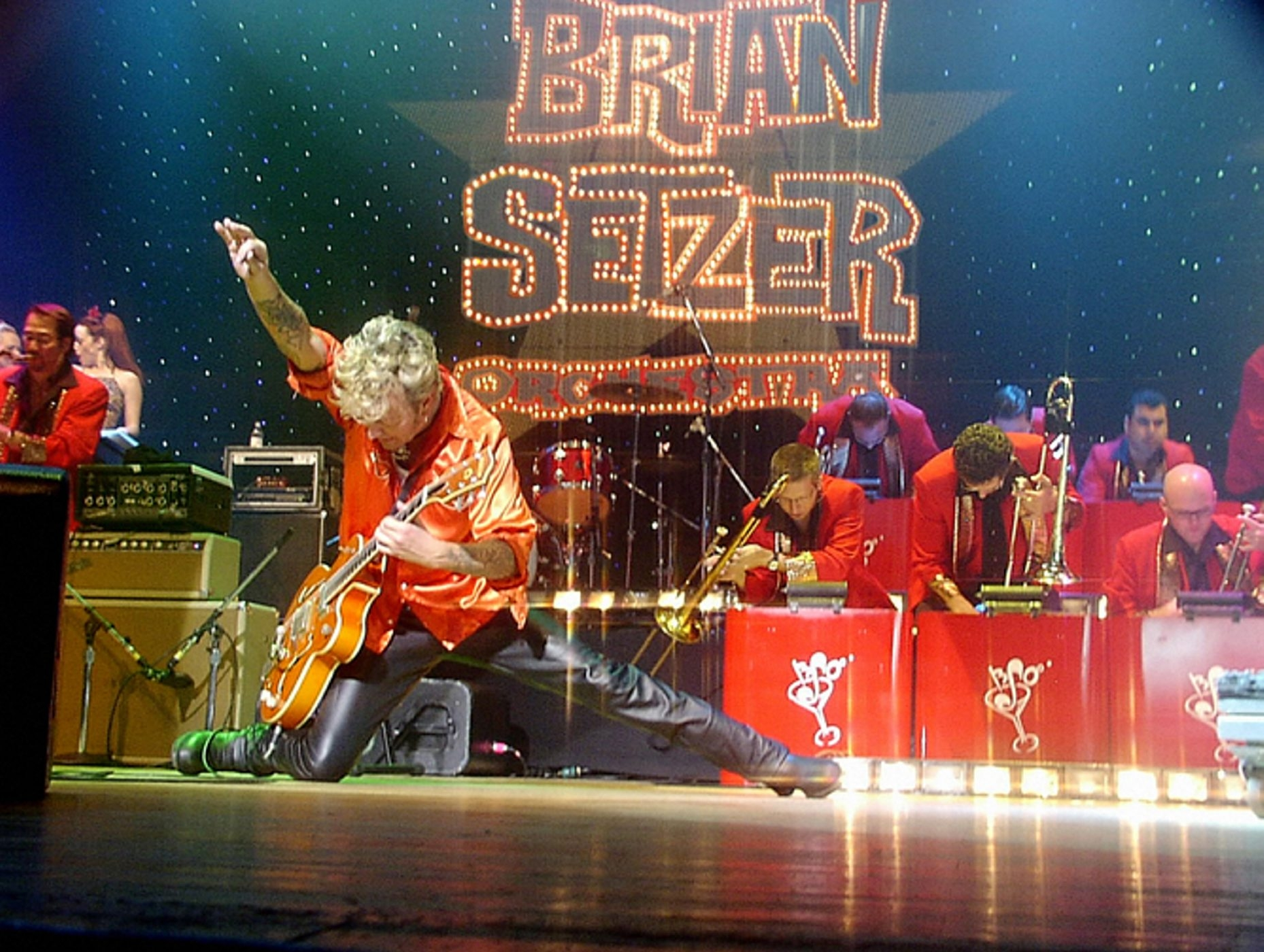 The Brian Setzer Orchestra: Christmas Rocks 10th Anniversary Tour will be at the UB Center for the Arts on Nov. 27.