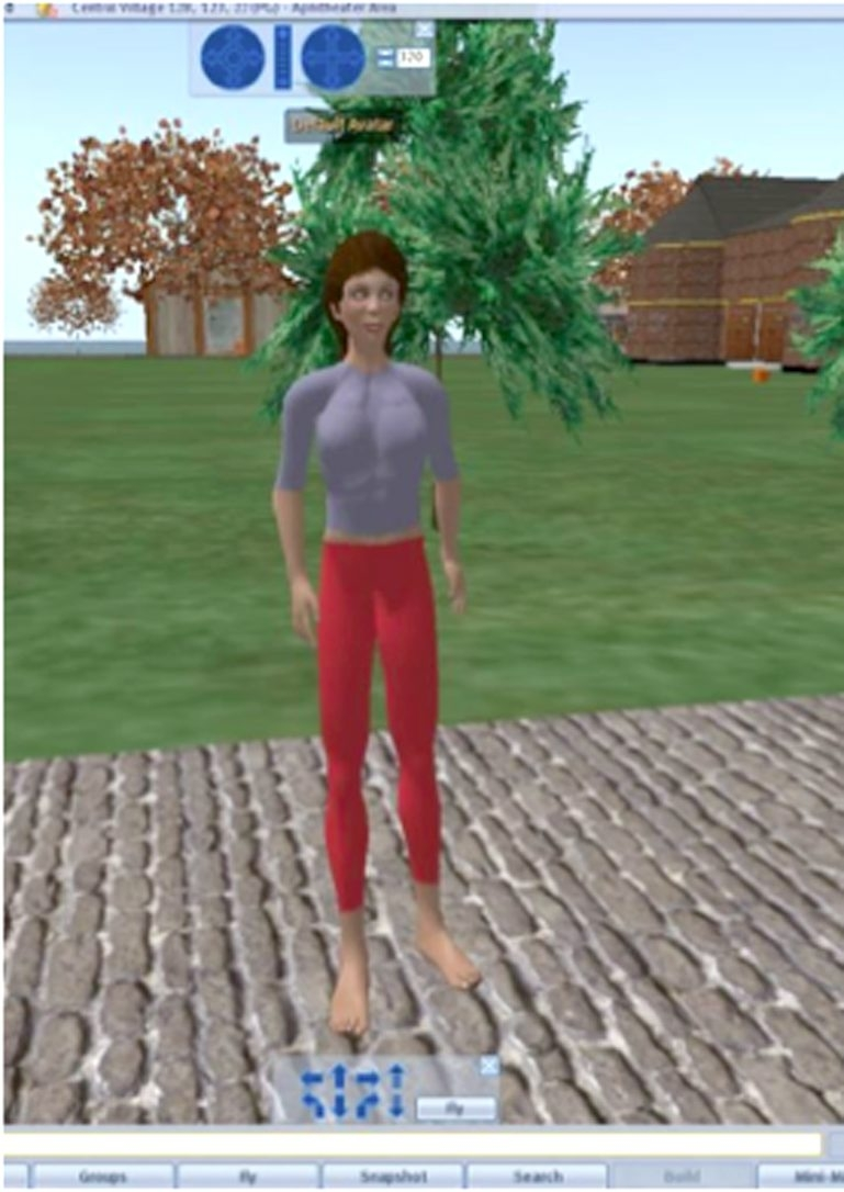 An avatar from an educational game being played by Lancaster students is stirring controversy.