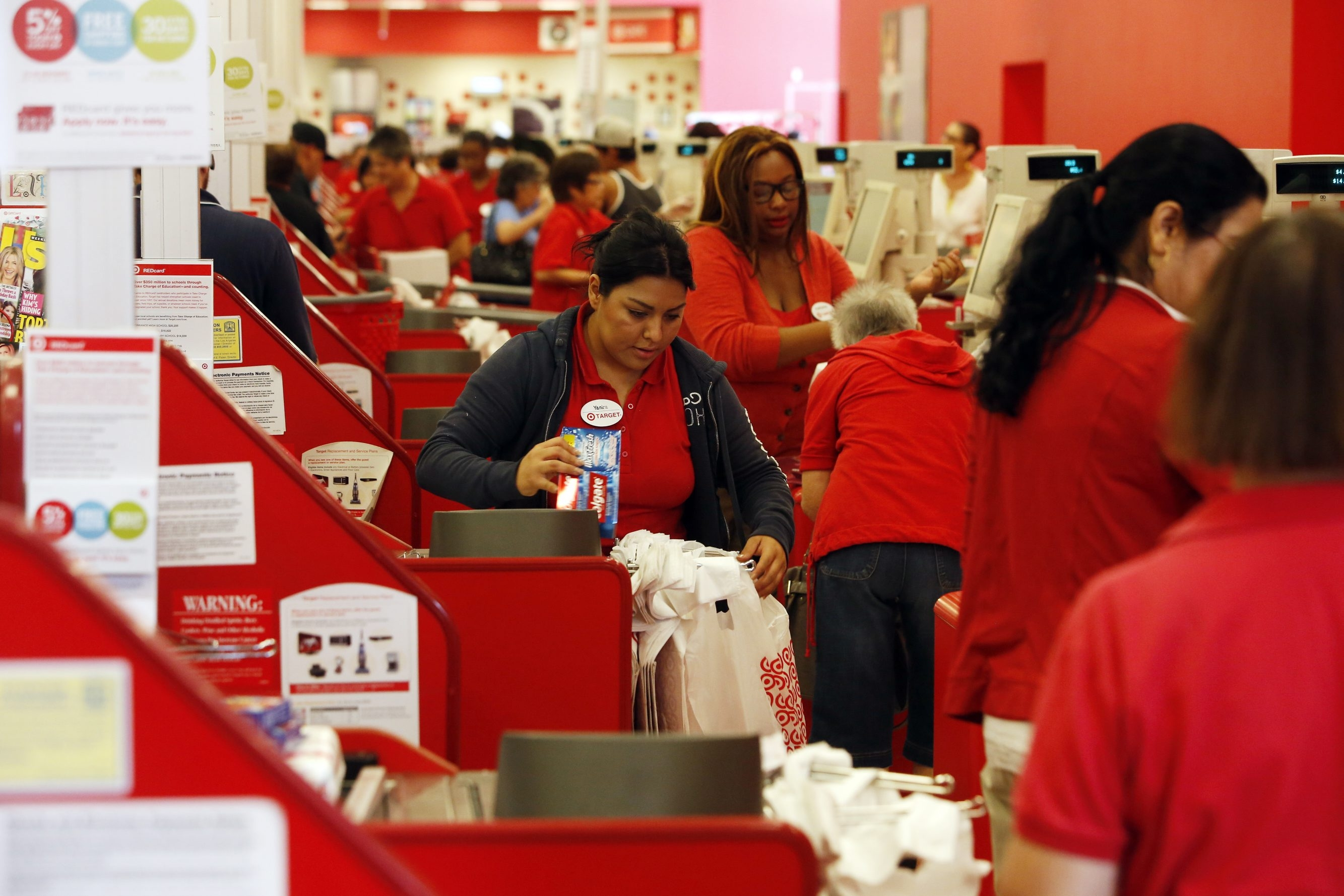 Target says it will pay employees who work on Thanksgiving Day time and a half.