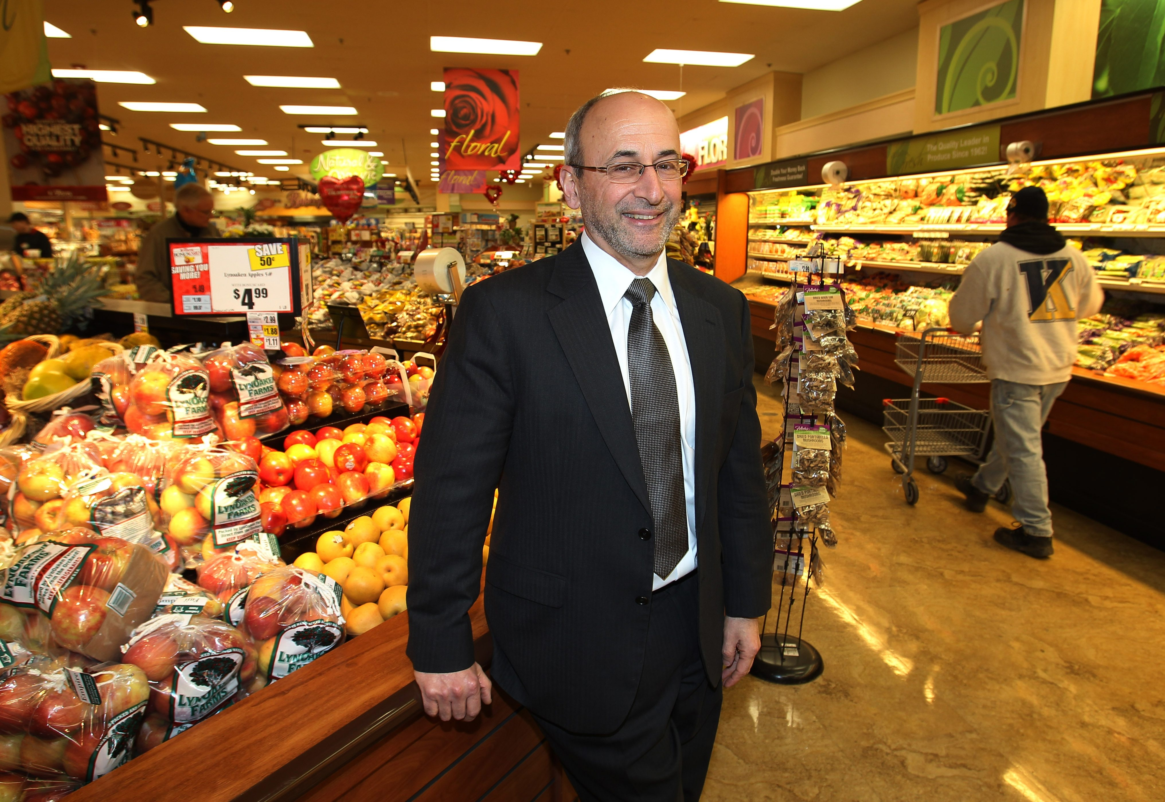 CEO Frank Curci is one of the six executives who will be returning Tops Markets to local control. (Buffalo News file photo)
