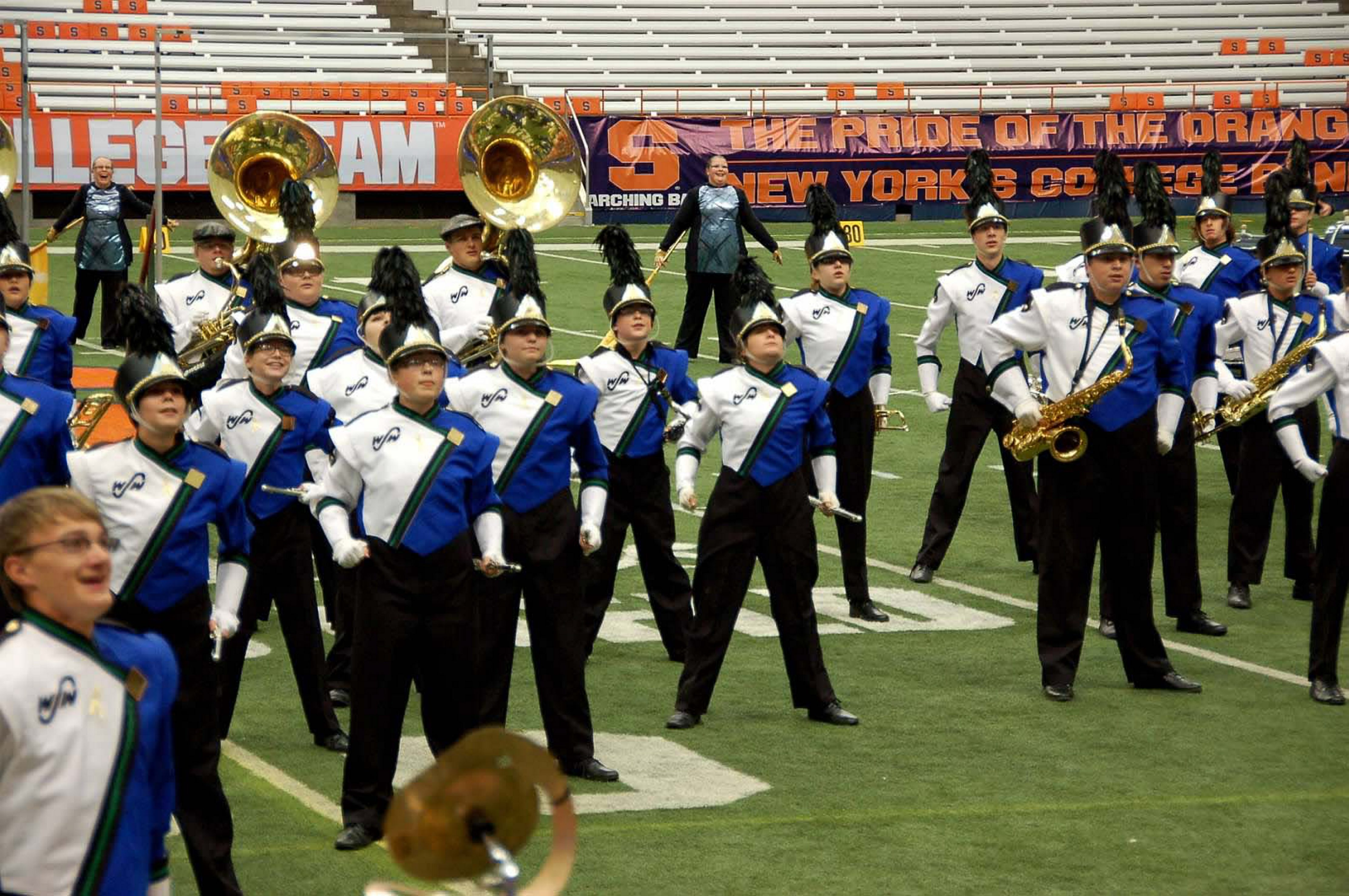 West Seneca marching band, with 60 students from West and East high schools, will perform at halftime of Gator Bowl on New Year's Day.