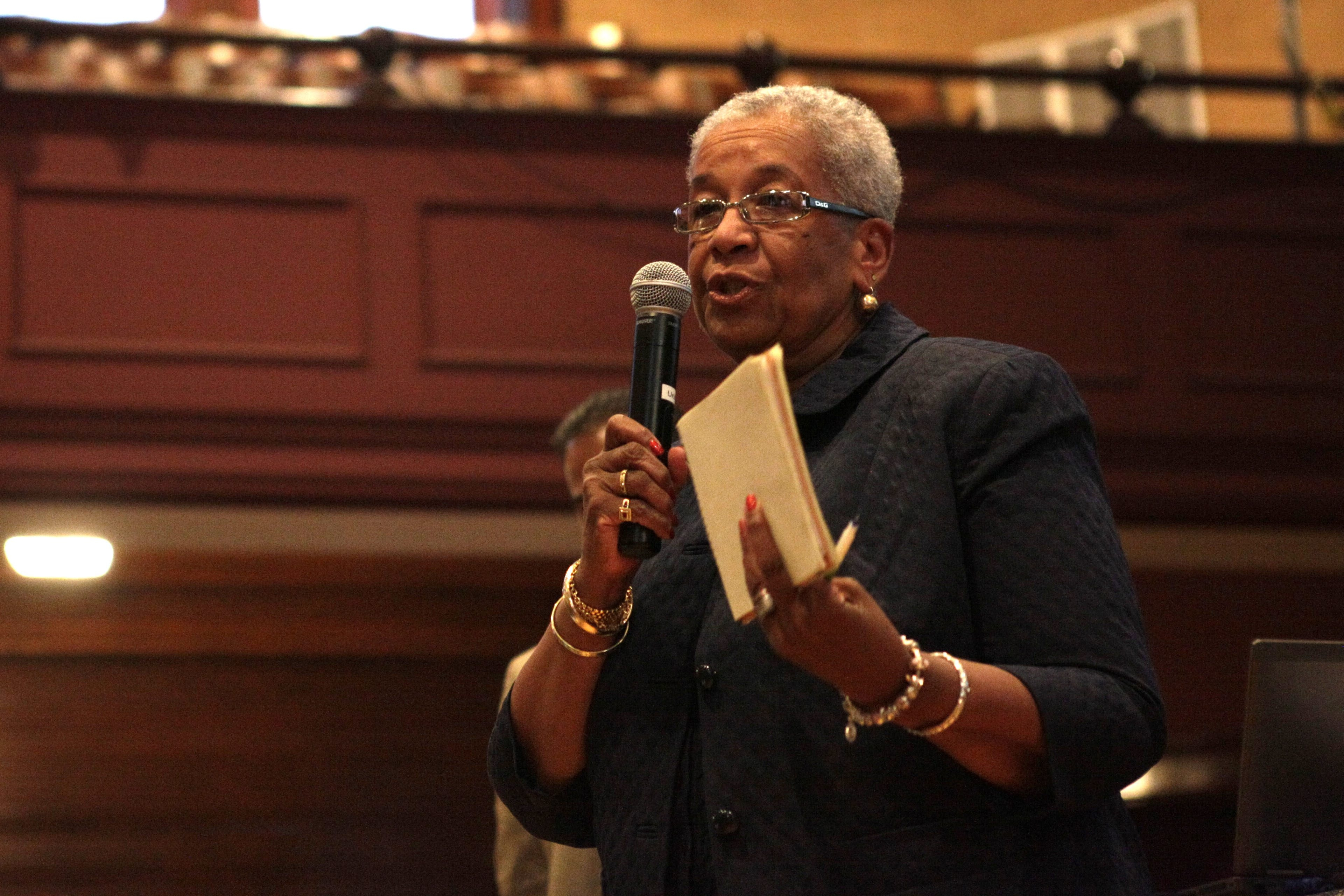 Barbara Seals Nevergold has been serving on the Buffalo Board of Education since January 2012.