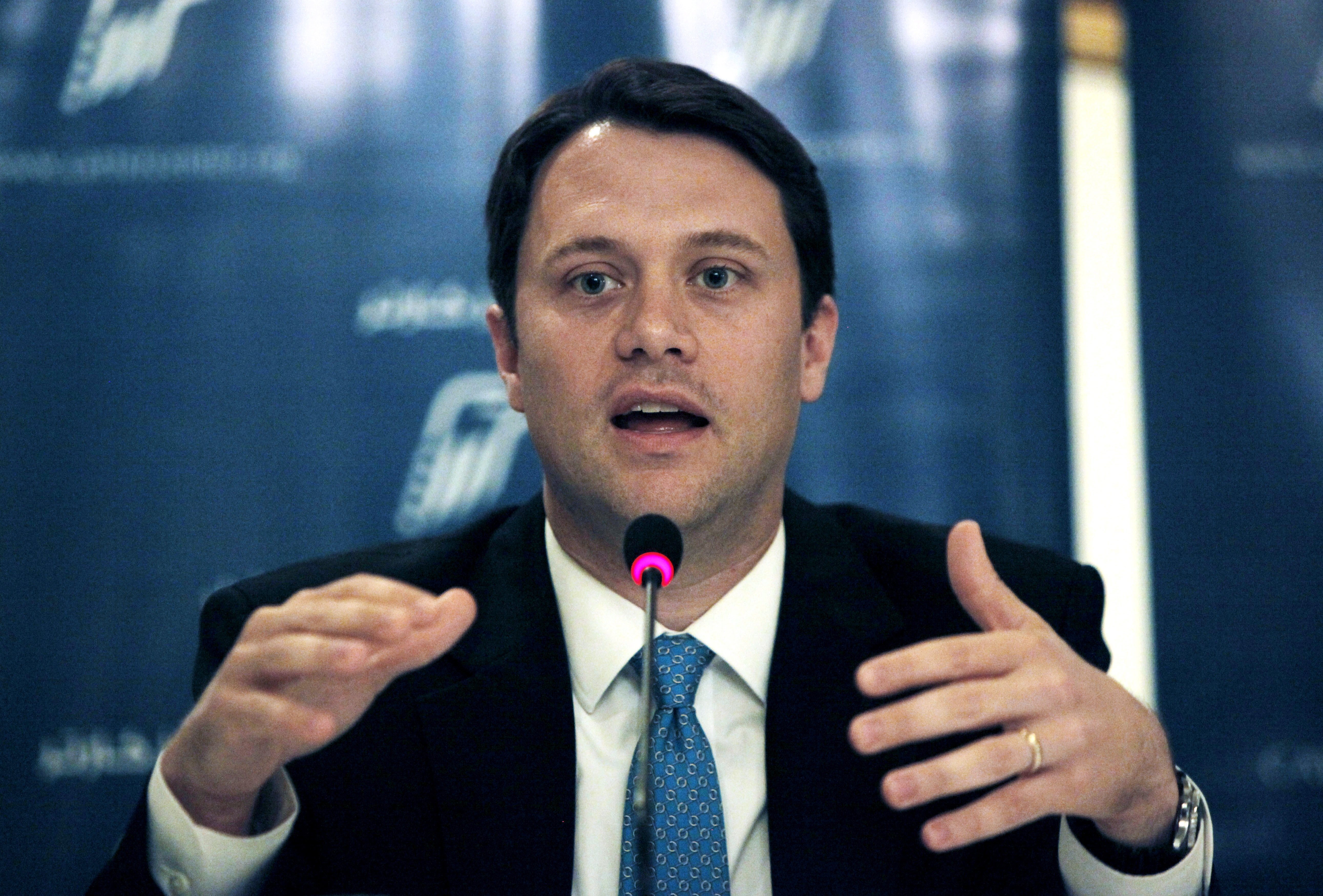 State Sen. Jason Carter calls himself a fiscal conservative. He'll face a well-financed incumbent in Gov. Nathan Deal.