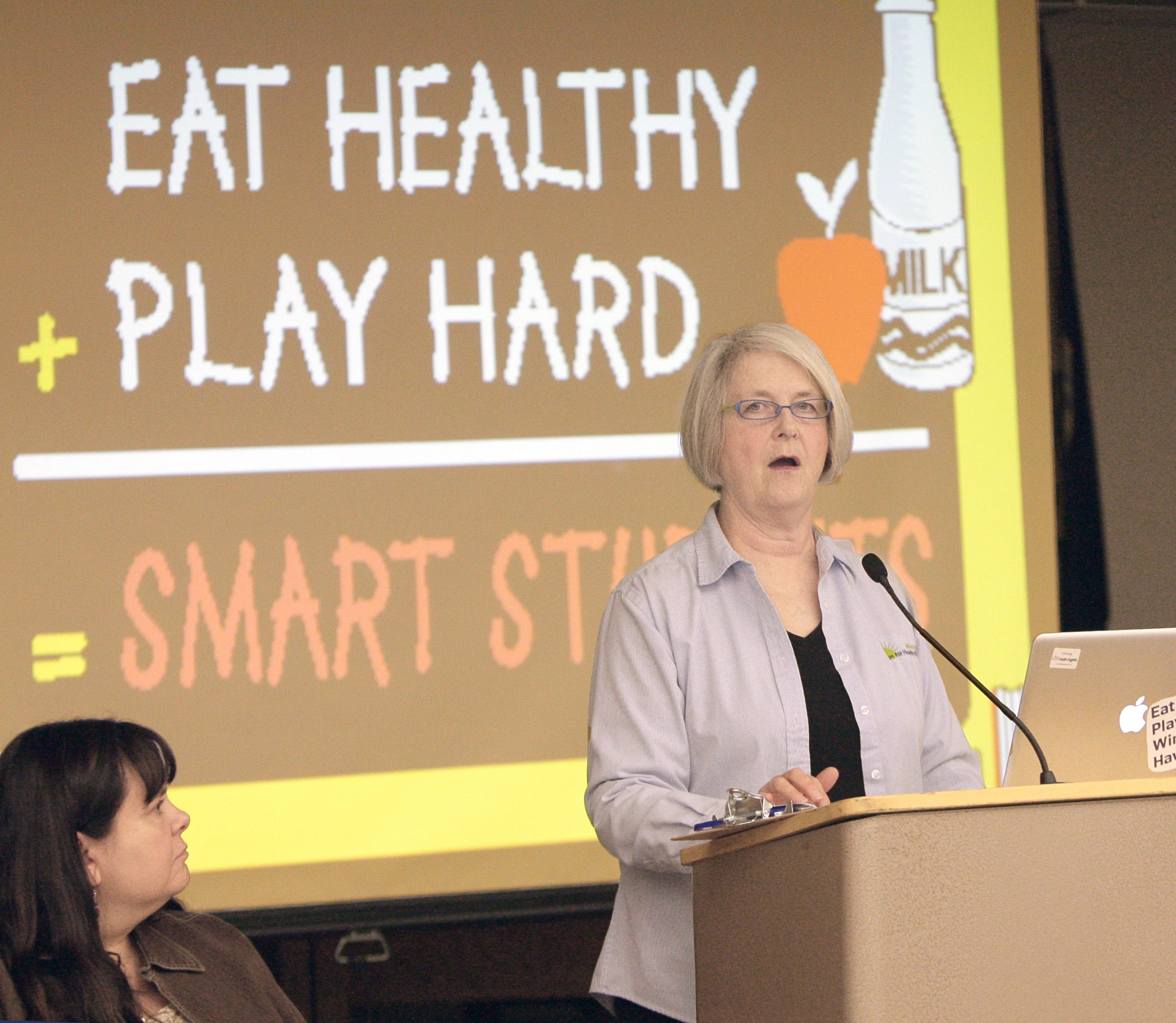 Dayle Hayes is president of Nutrition for the Future, a national force in the healthy school food and physical fitness movements.