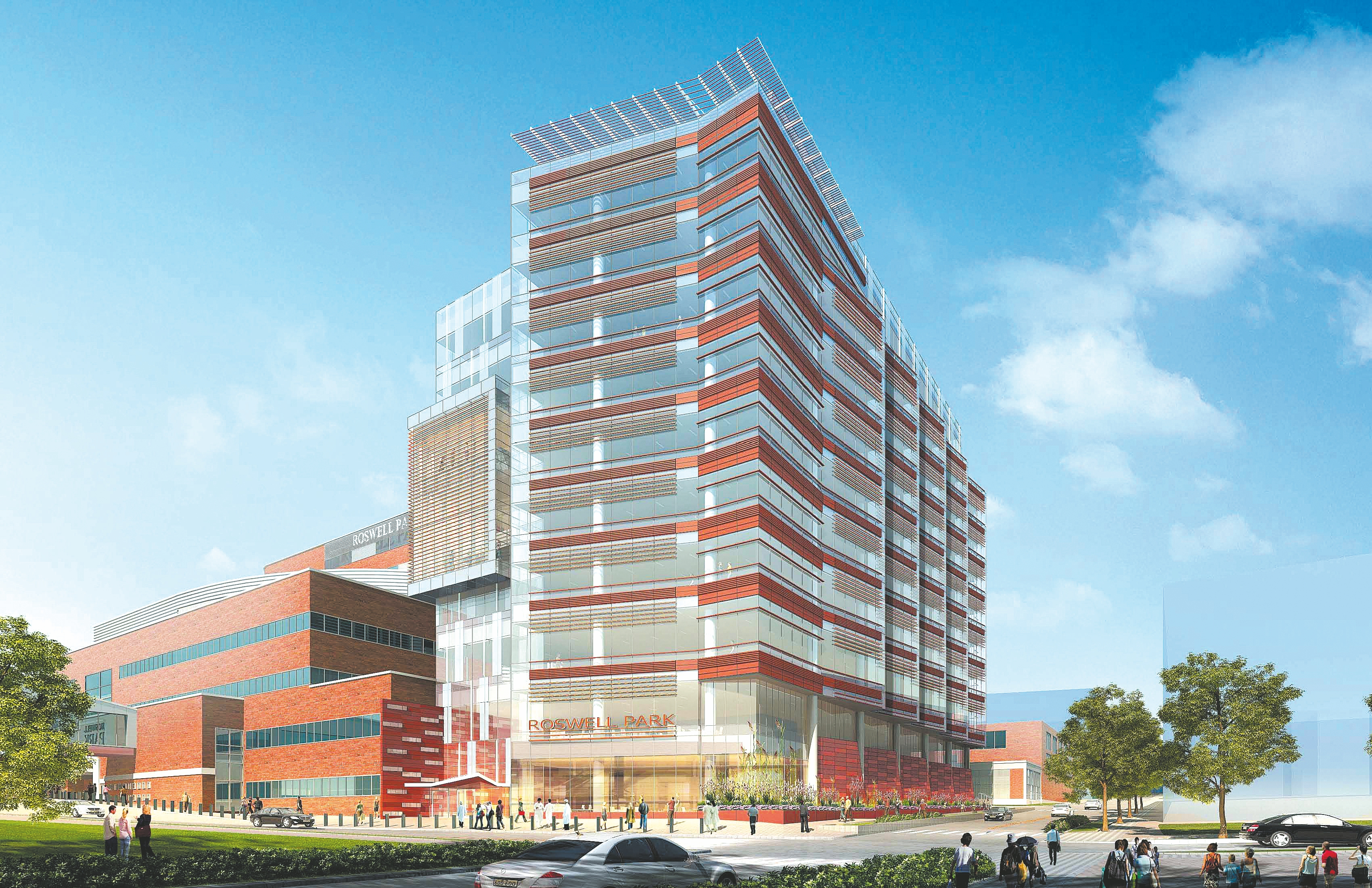 Roswell Park Cancer Institute has secured final funding for the first phase of its Clinical Sciences Center.