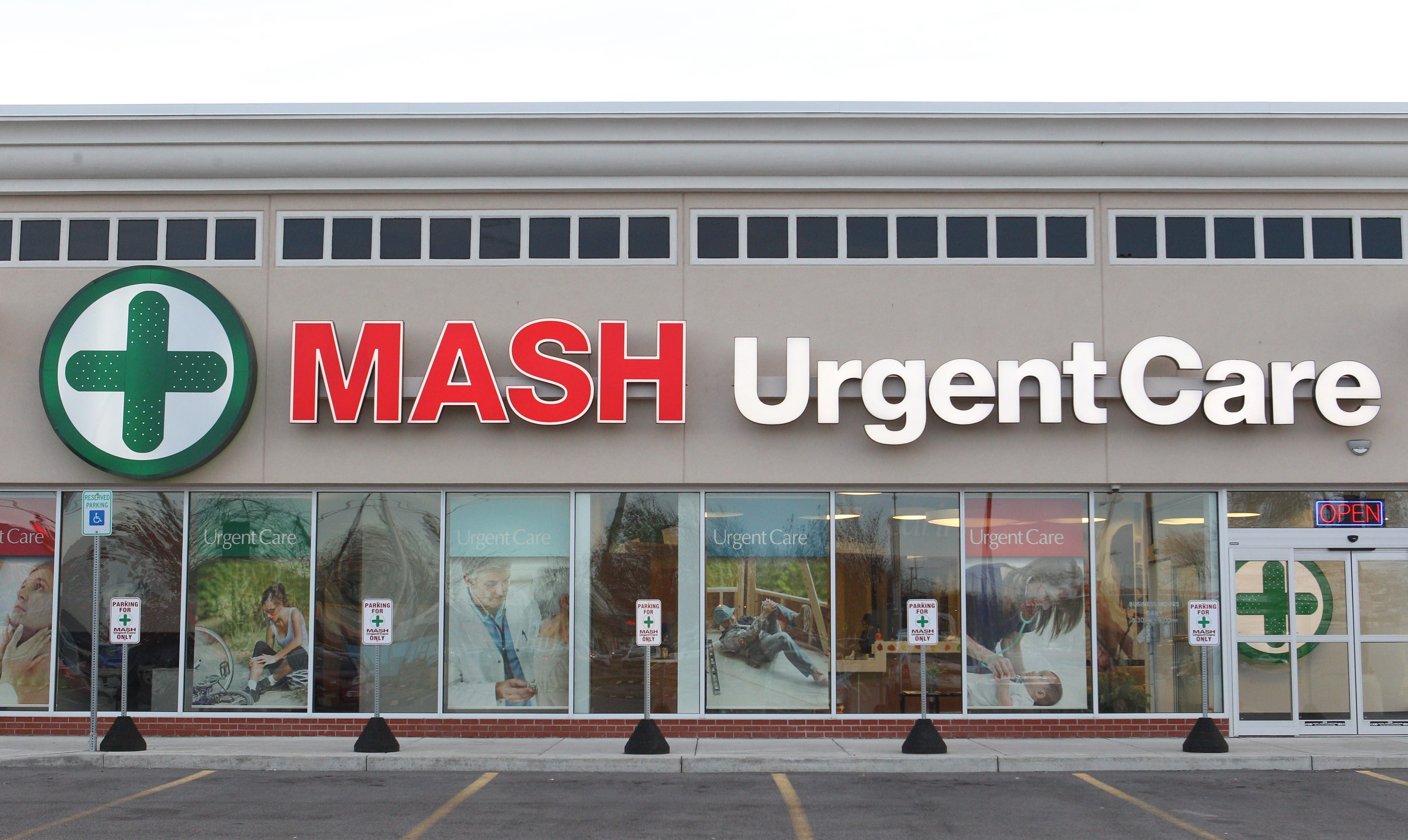 MASH Urgent Care, which has a unit on Sheridan Drive in the Town of Tonawanda, is one three major players.