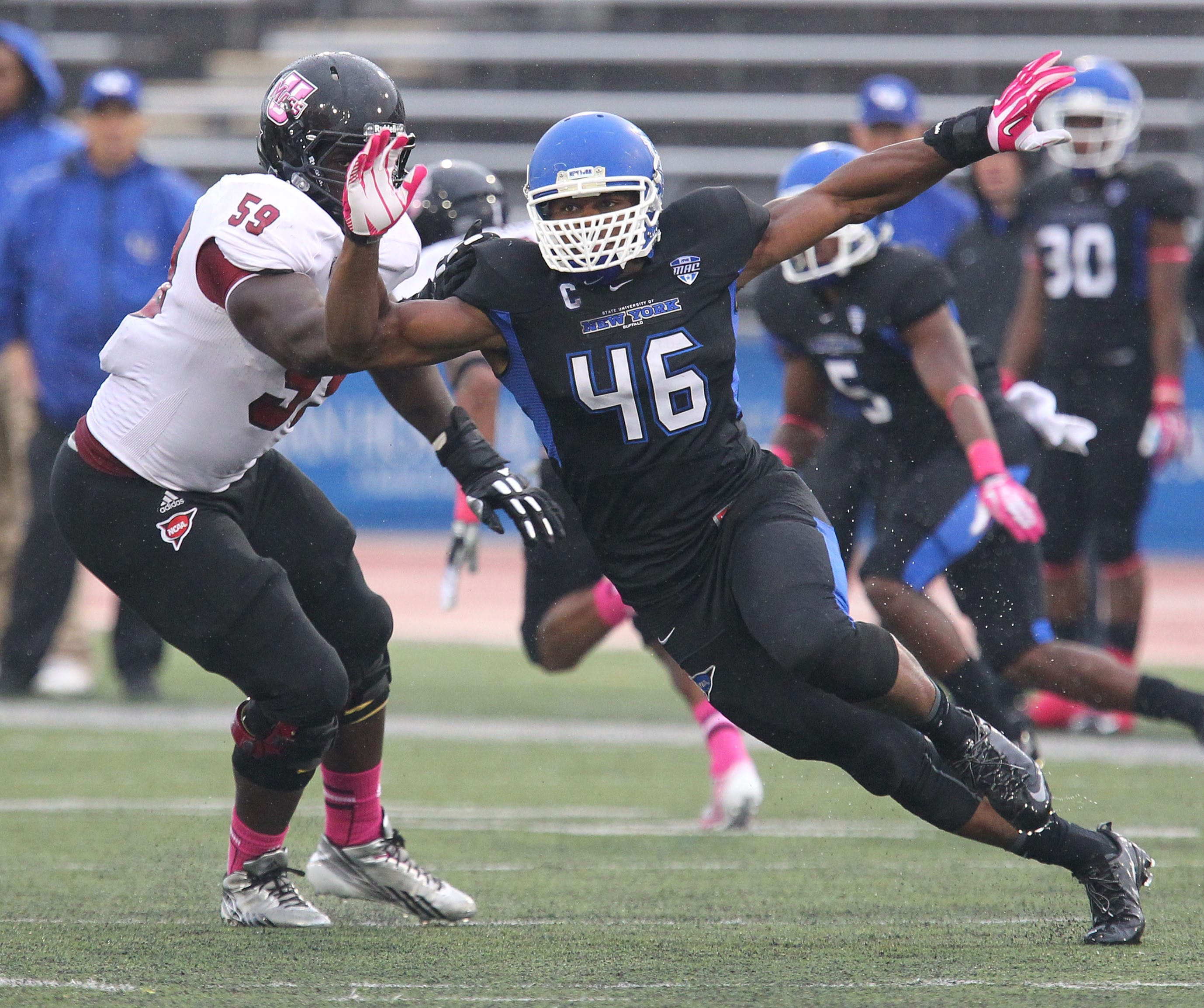 UB's Kahlil Mack has a chance to be named the nation's best linebacker.