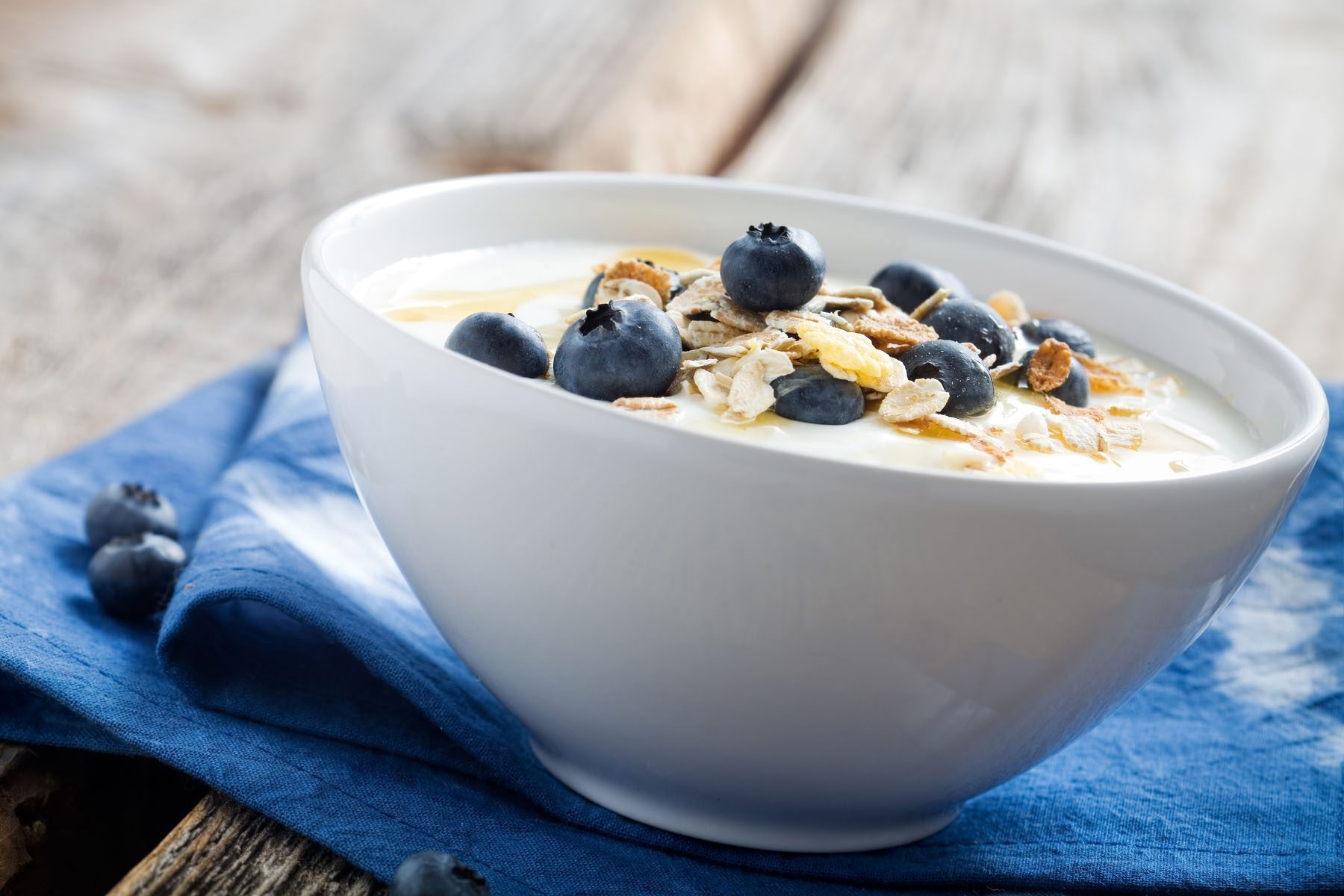 Dairy products like yogurt and milk boast healthy doses of calcium, and research suggests being calcium-deficient may make it difficult to sleep.