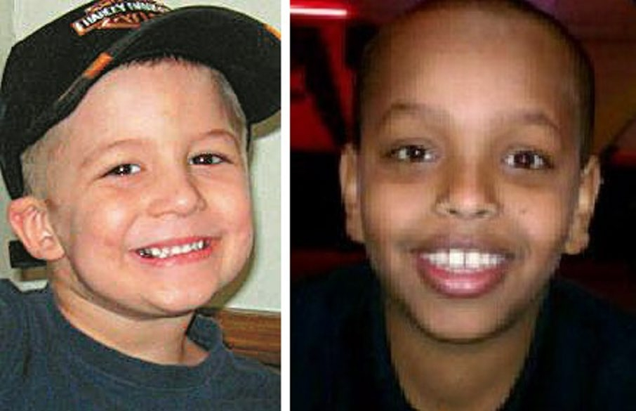 Eain Brooks, 5, left, and Abdifatah Mohamud, 10, were slain at their homes after warnings to county's protective agency were not heeded.