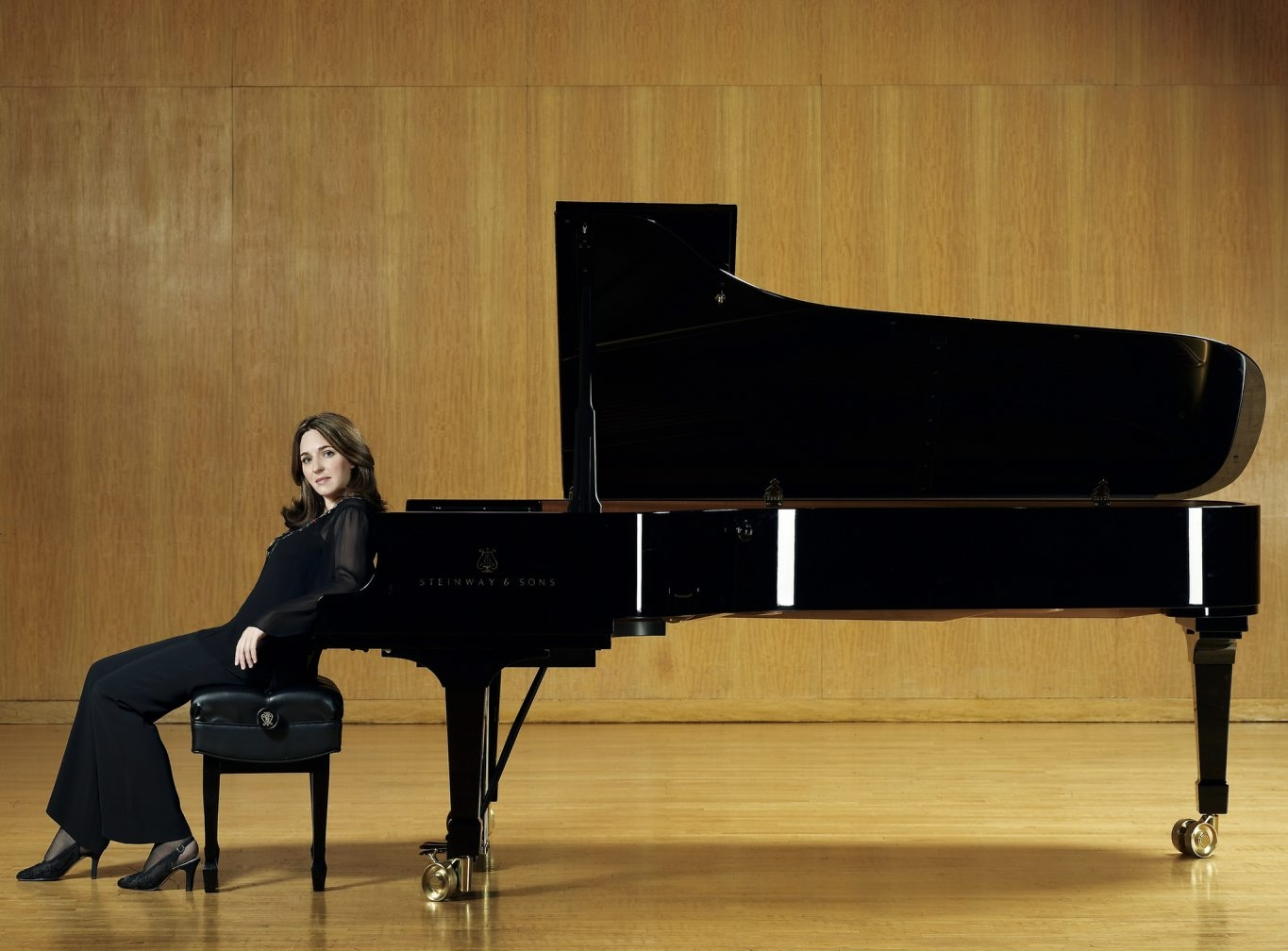 Simone Dinnerstein perfroms two shows with the BPO this weekend.