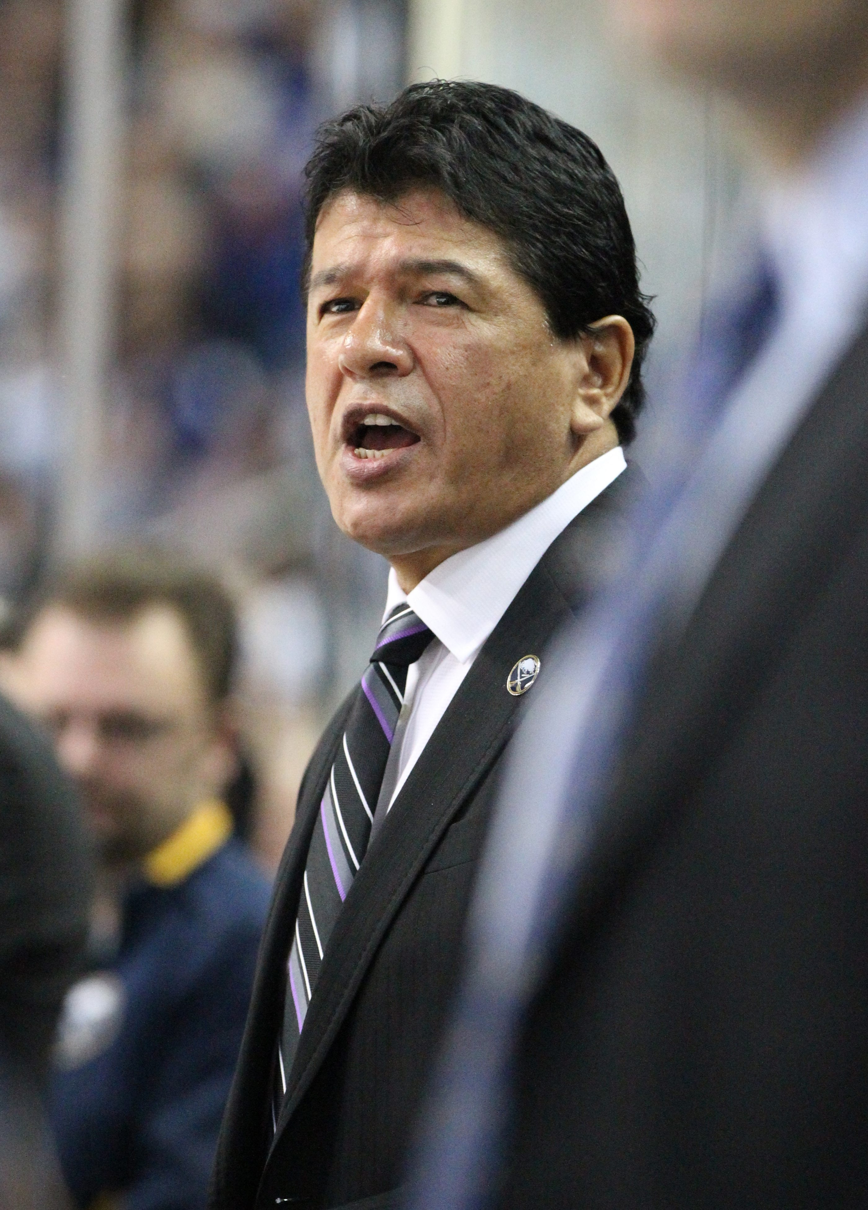 It was like old times with coach Ted Nolan back behind the Sabres' bench Friday.