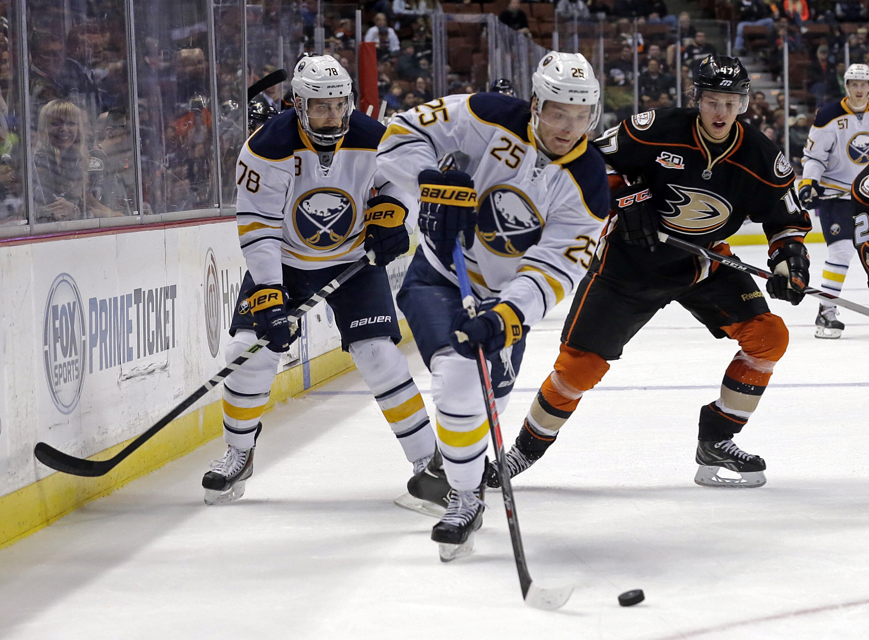 Mikhail Grigorenko scored two goals after being scratched for a week.