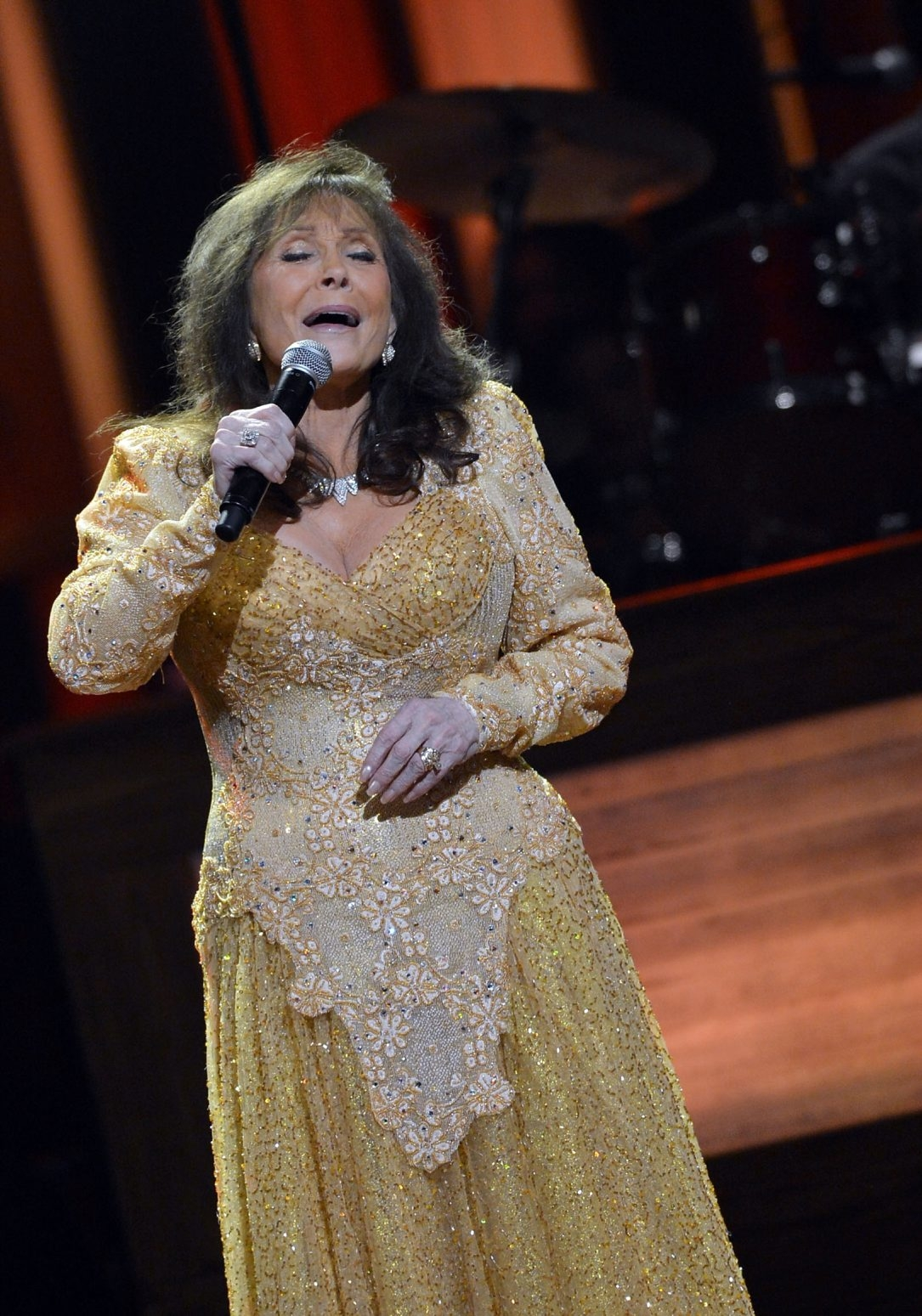 Getty Images  Country legend Loretta Lynn performs tonight in the Riviera Theatre.