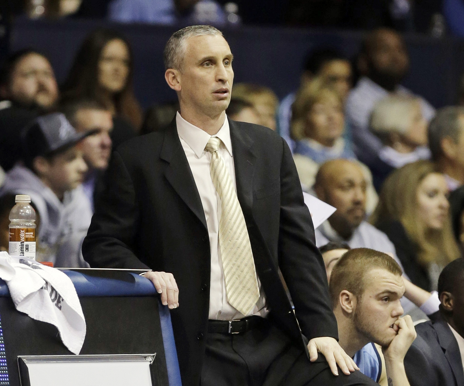 Bobby Hurley lost his first game as University at Buffalo head men's basketball coach on Friday night at Texas A&M. (AP file photo)