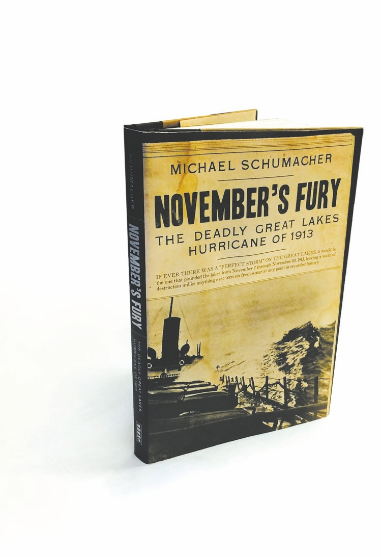 November's Fury By Michael Schumaker  University of Minnesota Press, 216 pages, $24.95