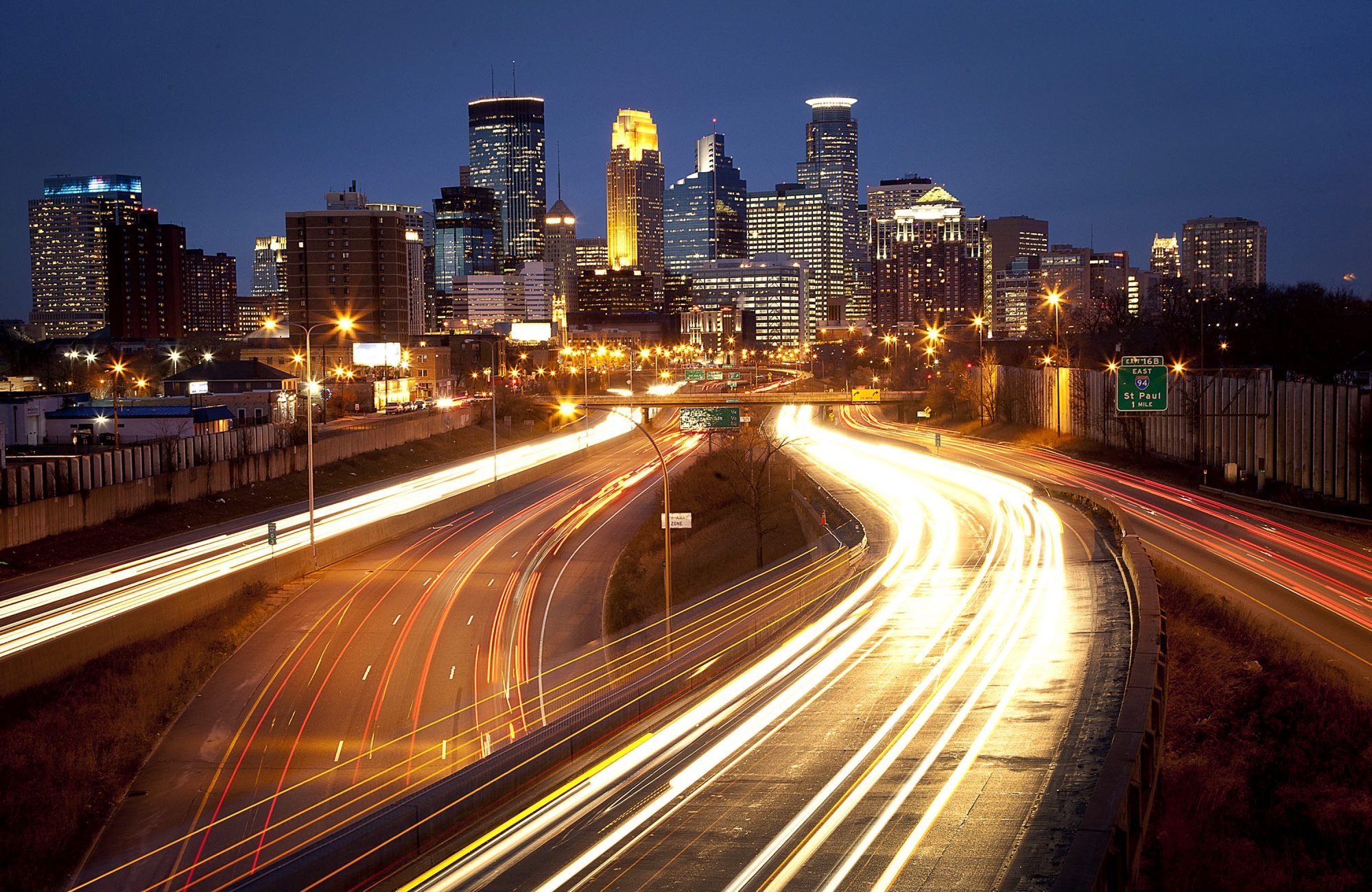 """The skyline of Minneapolis looks vastly different from that of Buffalo. The state's Greater MSP development group has offered to """"introduce"""" Delaware North Cos. to the Minneapolis-St. Paul area for the company to seek its new  headquarters."""