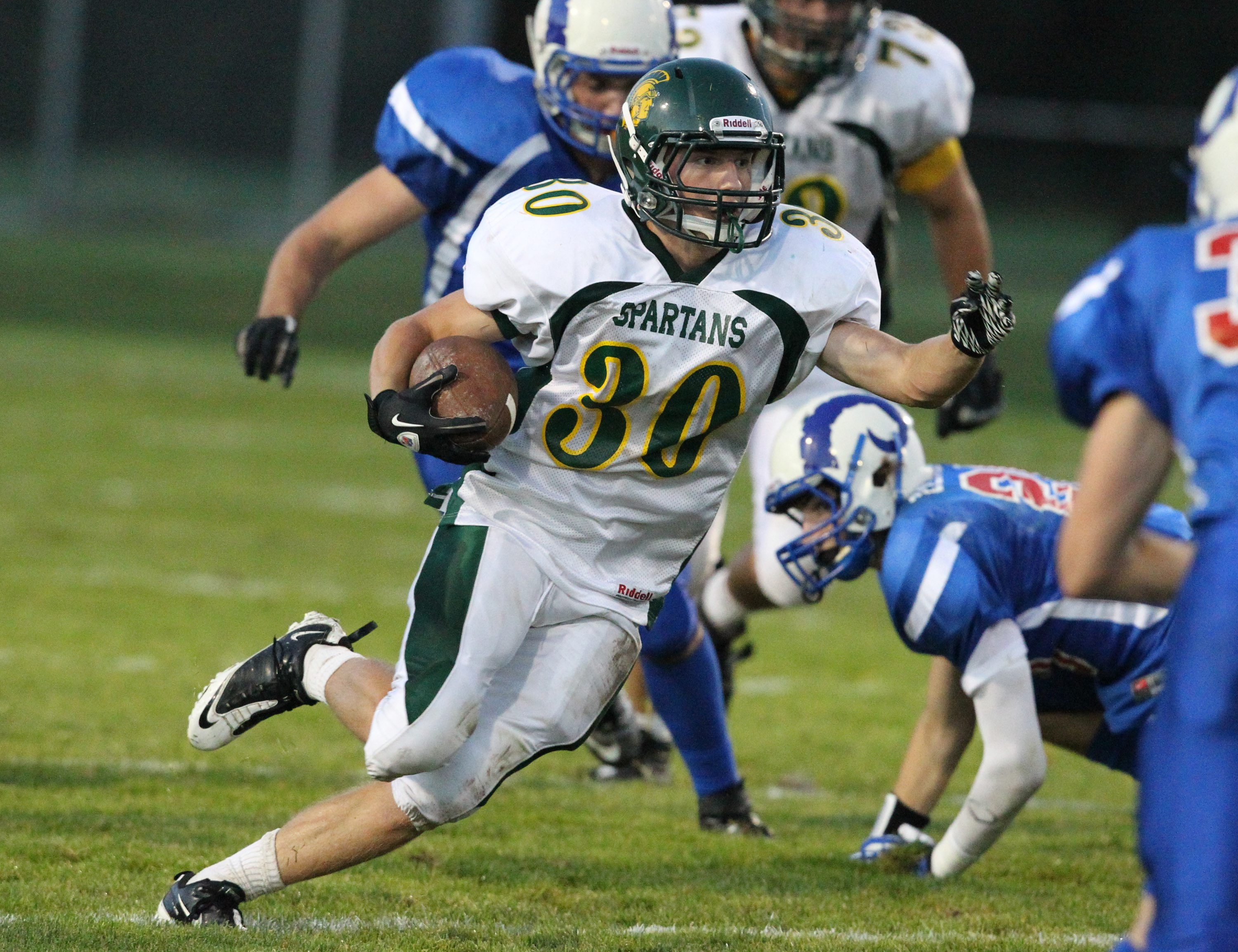 Derick Isler is Williamsville North's  top rusher.