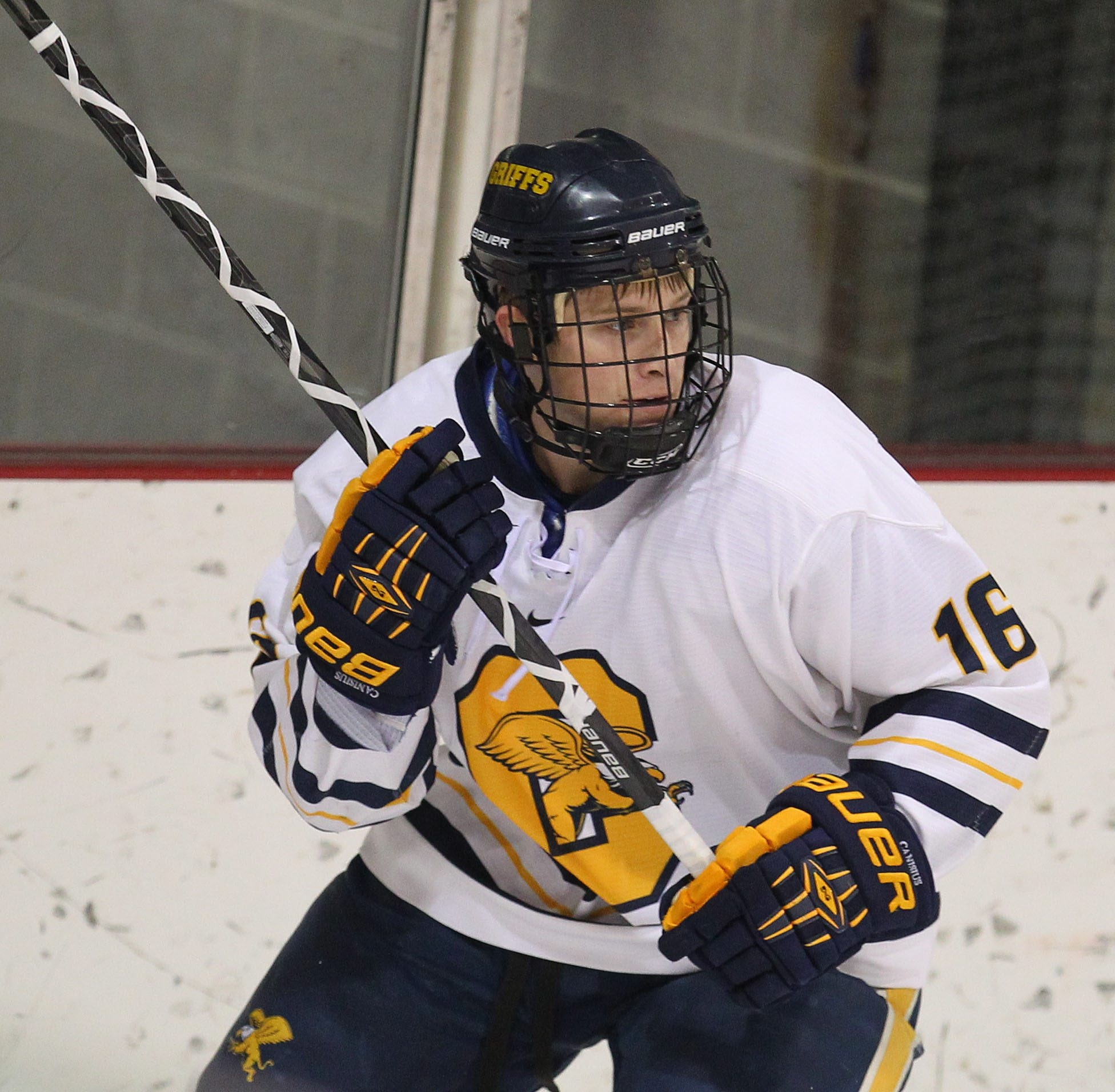 Canisius' Ben Danford skates in the first period of the game at Buffalo State Saturday, November 9, 2013.  (Mark Mulville/Buffalo News)