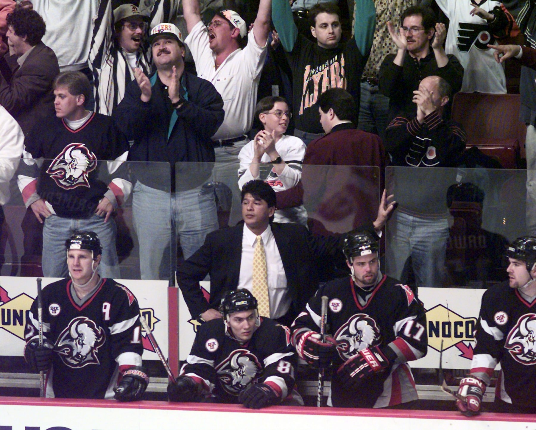 James P. McCoy/Buffalo News file photo  Ted Nolan's Sabres brought the fans to their feet.
