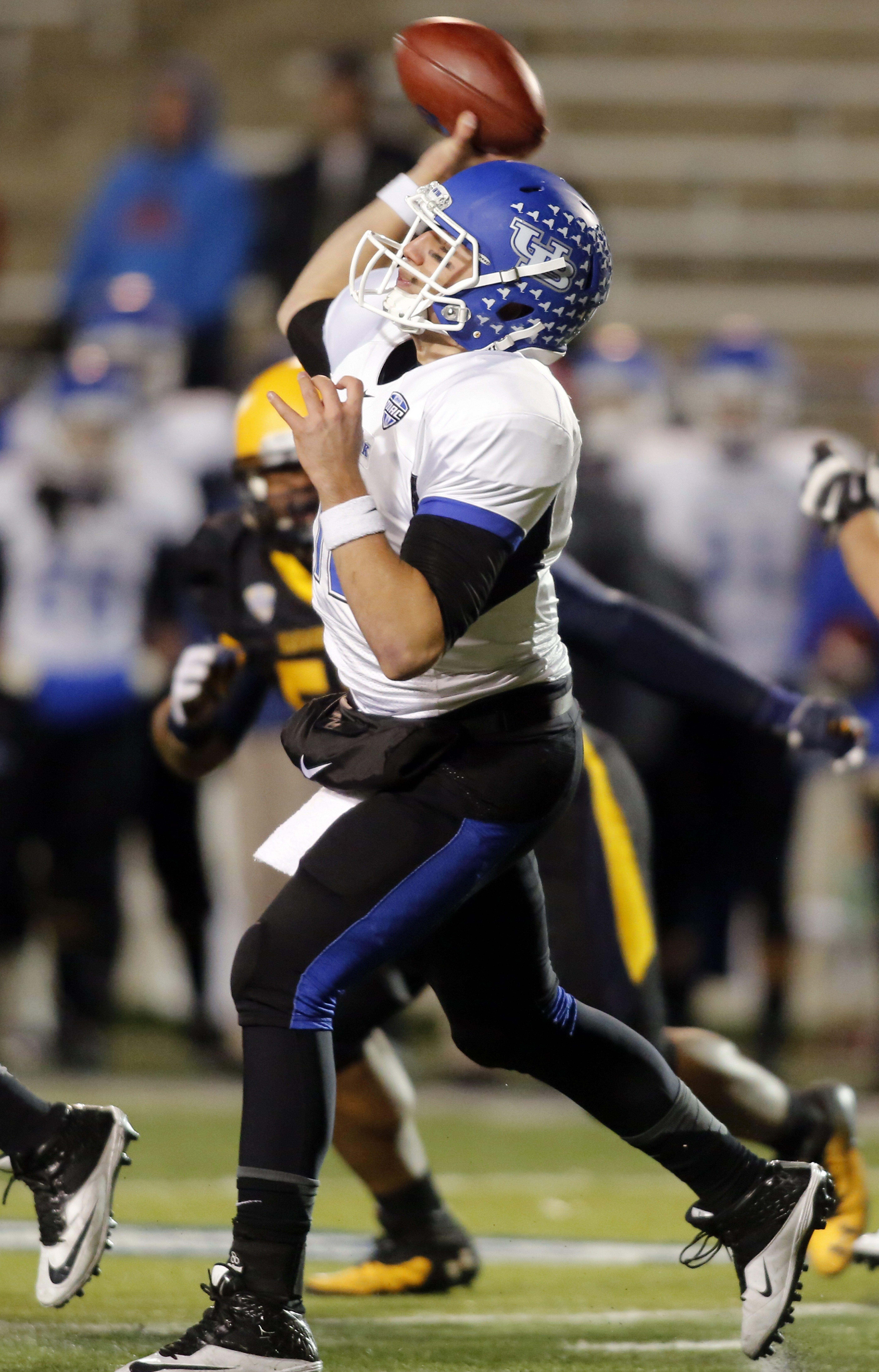 Buffalo quarterback Joe Licata threw for 497 yards. For a photo gallery from the game, go to BuffaloNews.com.