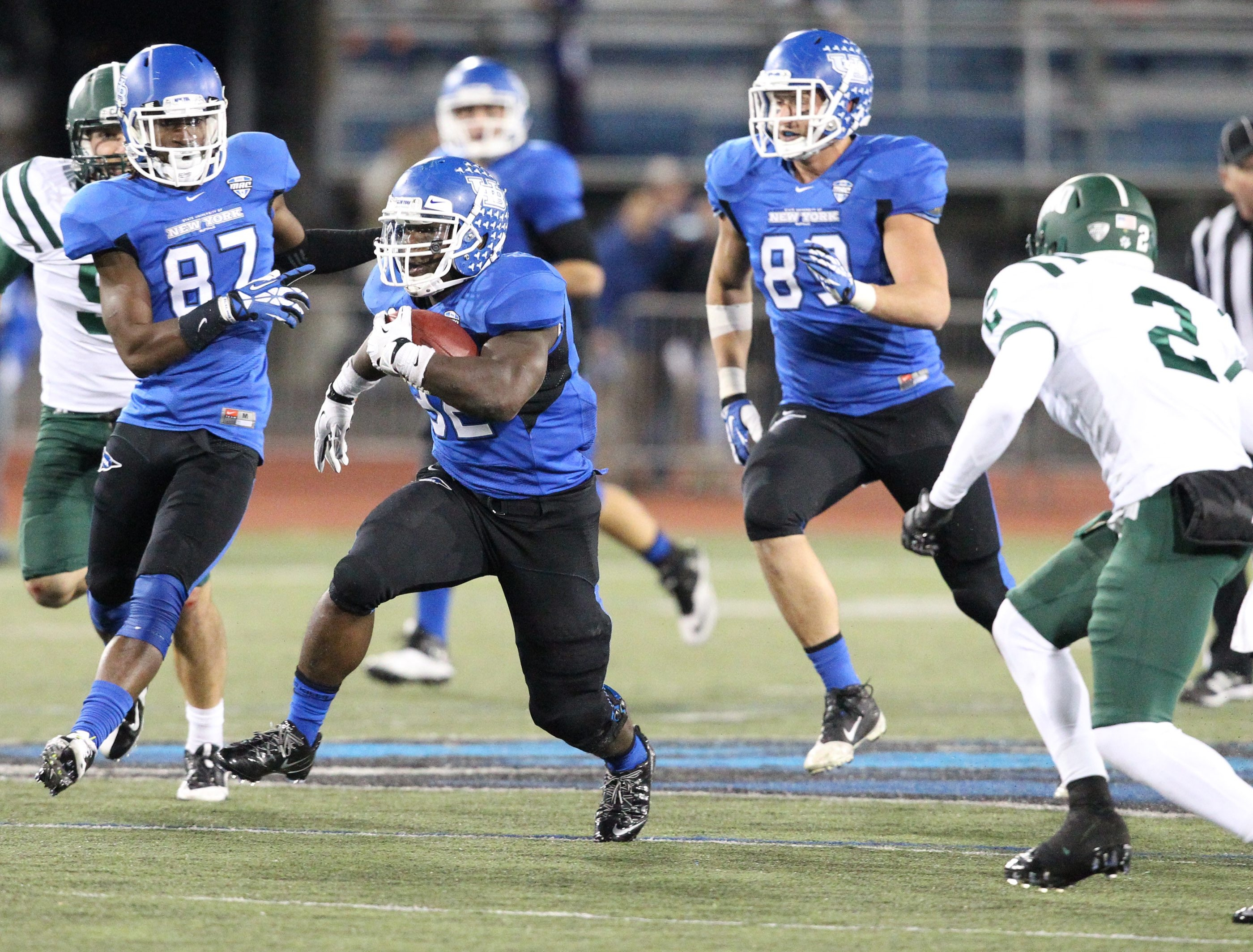 Branden Oliver and the UB Bulls are making a strong run toward the MAC championship and a big-time bowl bid.