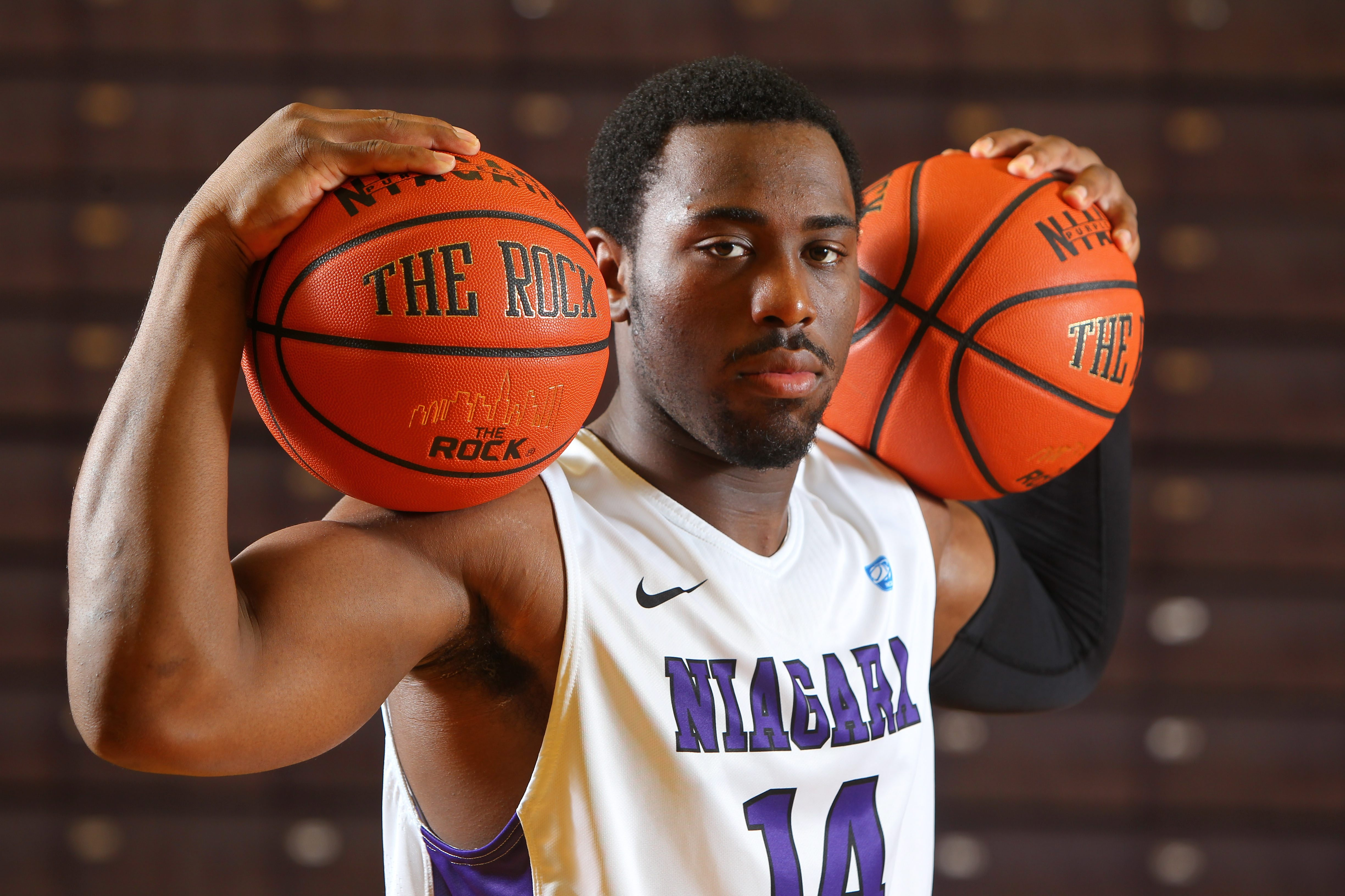 Junior guard Antoine Mason might be the centerpiece for Niagara, but don't call the Purple Eagles a one-man show.