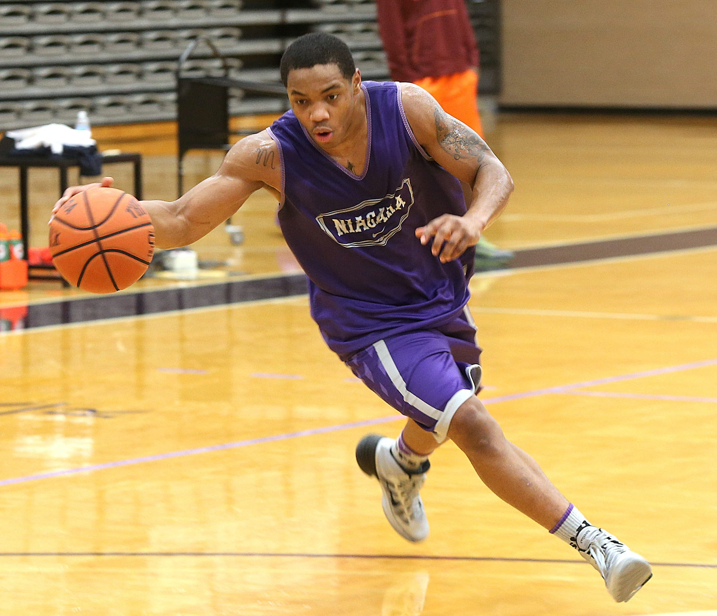 Marvin Jordan has the chance to leave Niagara as the program's all-time leader in three-pointers made.