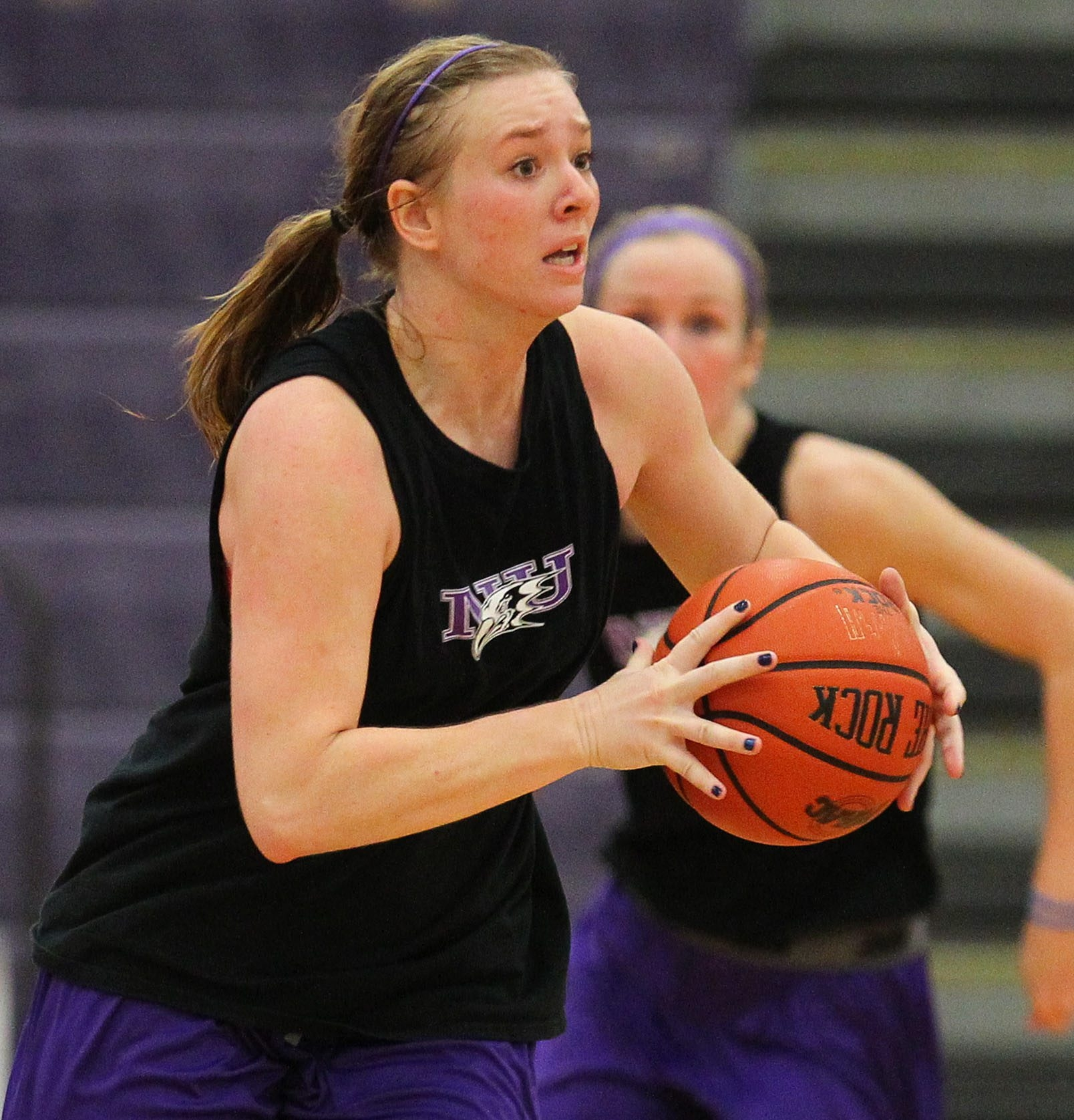 Junior guard Kelly Van Leeuwen will be one of the Purple Eagles with an expanded role this season.