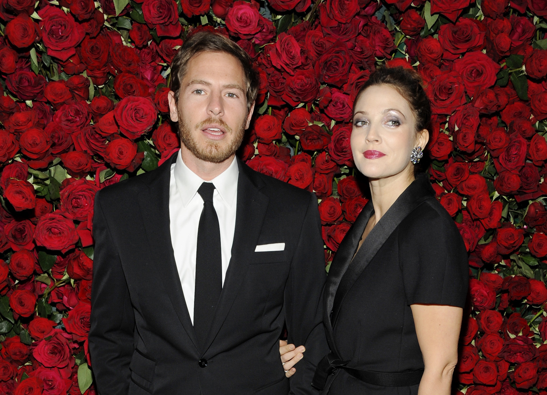 Actress Drew Barrymore and her husband, Will Kopelman, shown here in 2011, are expecting their second child, publicist Chris Miller said Monday.