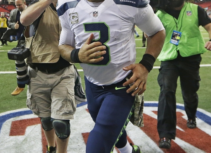 Russell Wilson and the Seahawks cruised to victory last week. (Associated Press)