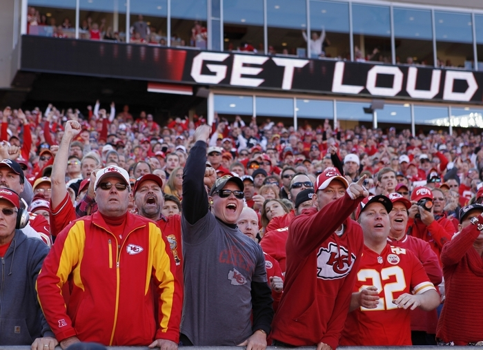 Kansas City Chiefs fans set a record for loudness in a recent game – 137.5 decibels – louder than a jackhammer nearby. (New York Times)
