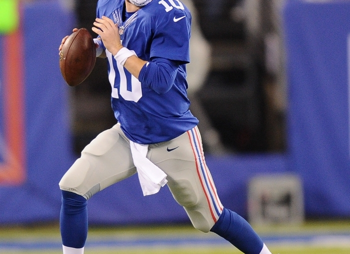 Eli Manning and the Giants can expose the big weakness of the Cowboys. (Getty Images)
