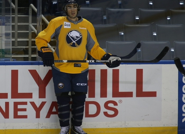 Matt Moulson didn't have much success against the Flyers while he was with the Islanders. (Charles Lewis/Buffalo News)