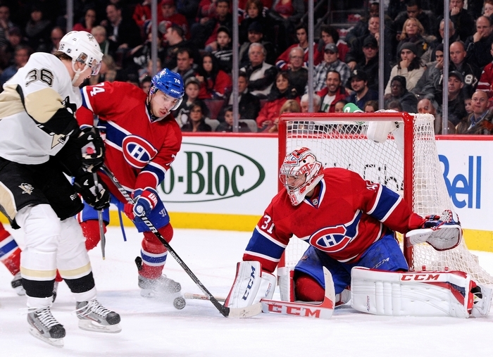 Montreal goalie Carey Price has a 2.05 goals-against average. (Getty Images)