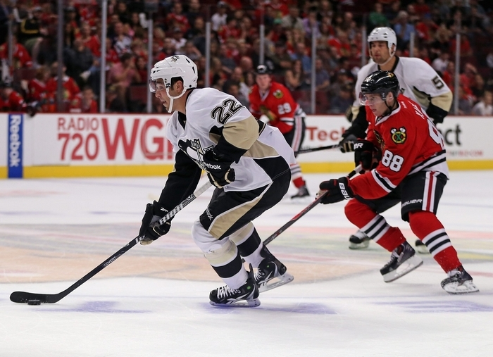Matt D'Agostini (22), couldn't find much playing time when he was a member of the Pittsburgh Penguins. He hopes a move to the Sabres will get him on track and he can find regular duty. (Getty Images)