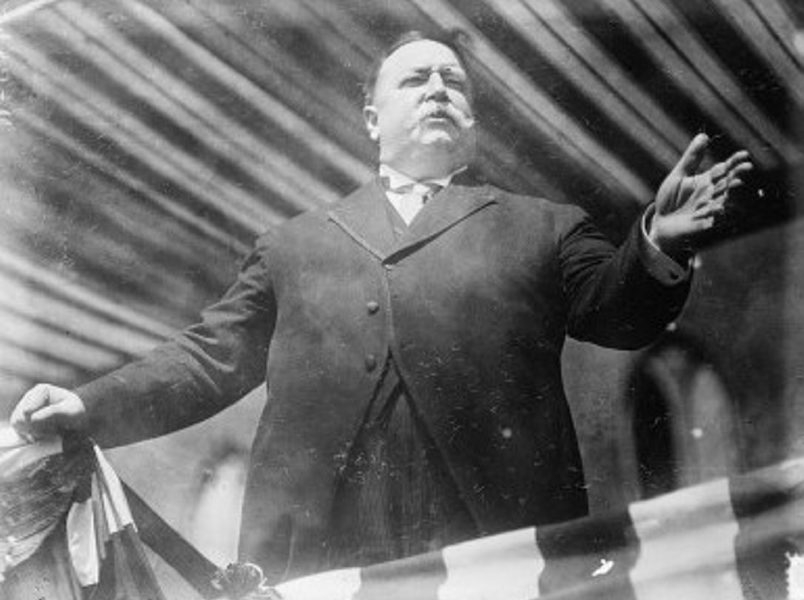 William Howard Taft, America's heaviest president, consulted a British physician in his battle to lose weight.