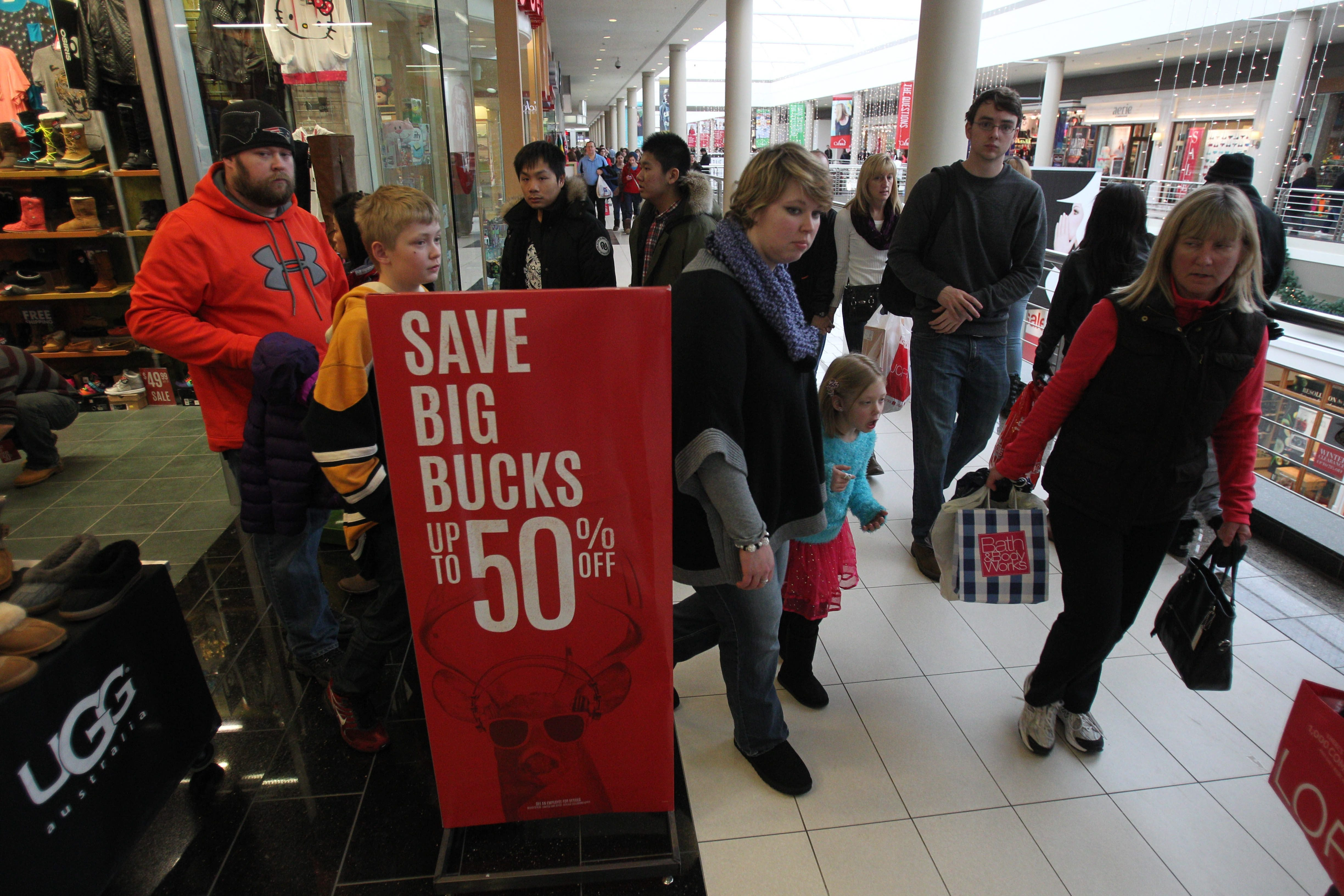 Day after Christmas provides lots of chances for shoppers to find bargains at Walden Galleria and elsewhere.