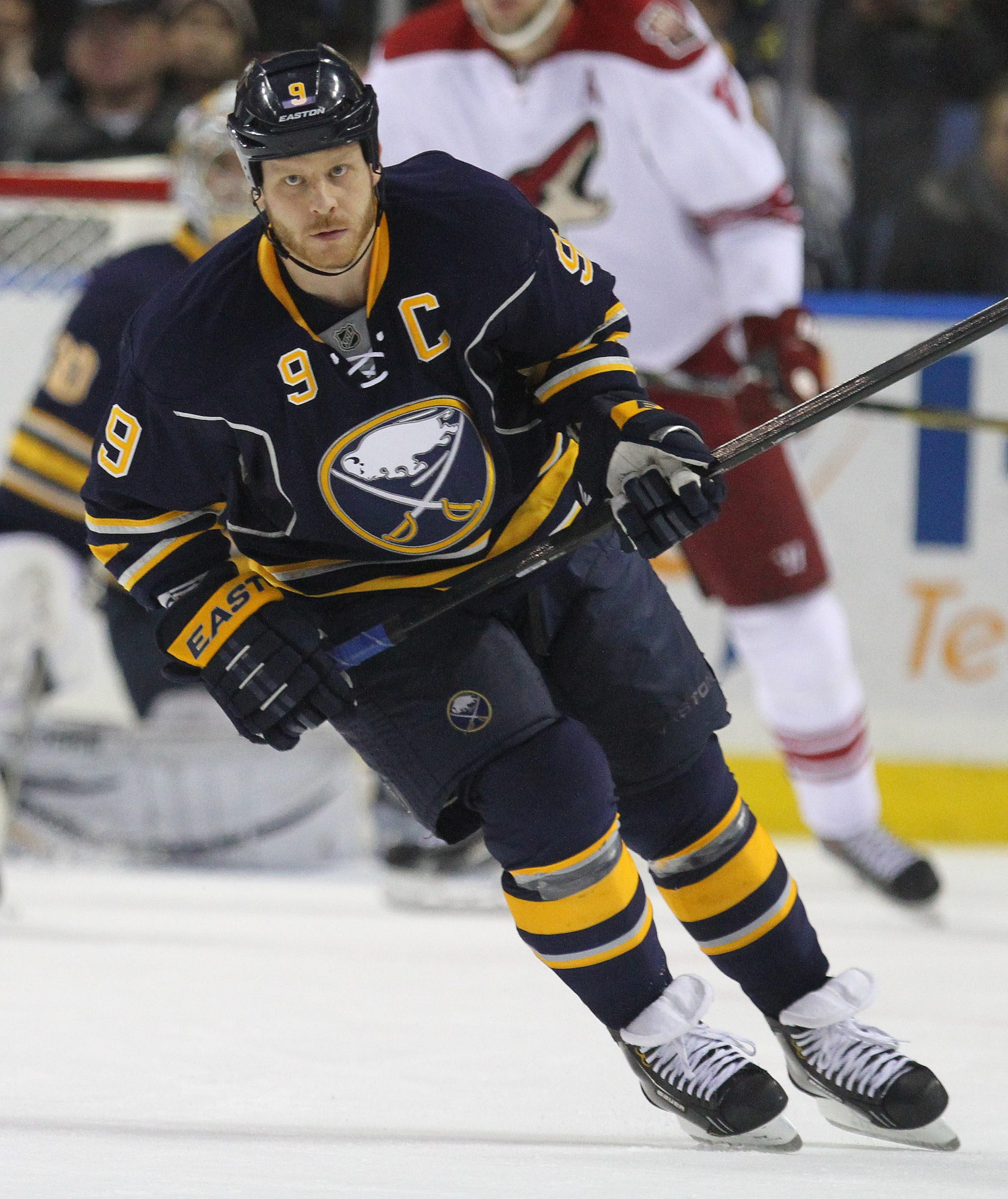 The Sabres are right on track to follow the preseason timetable set by their captain, Steve Ott.