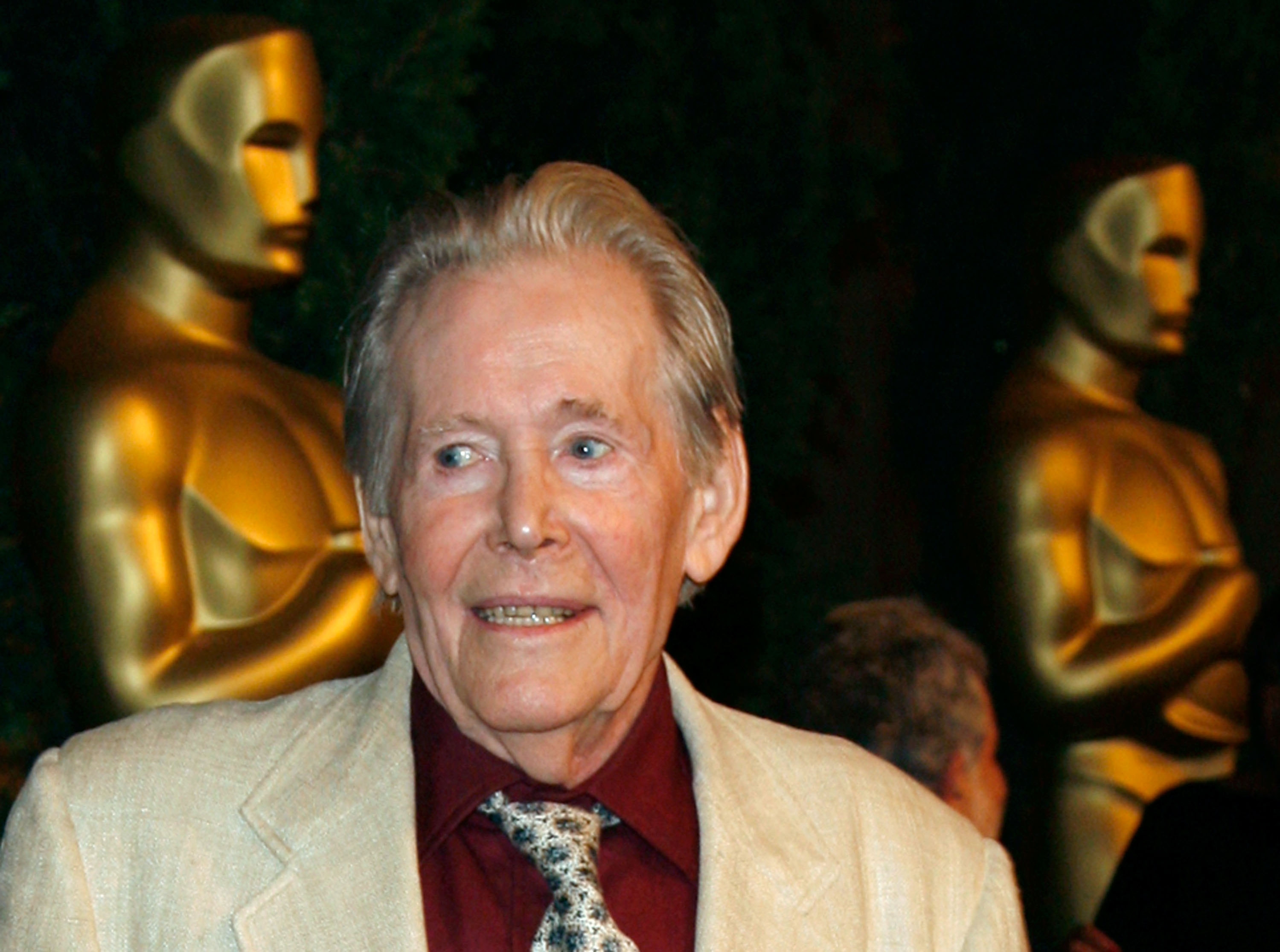 Peter O'Toole attends the 79th annual Academy Award nominees luncheon in 2007 in Beverly Hills, California.