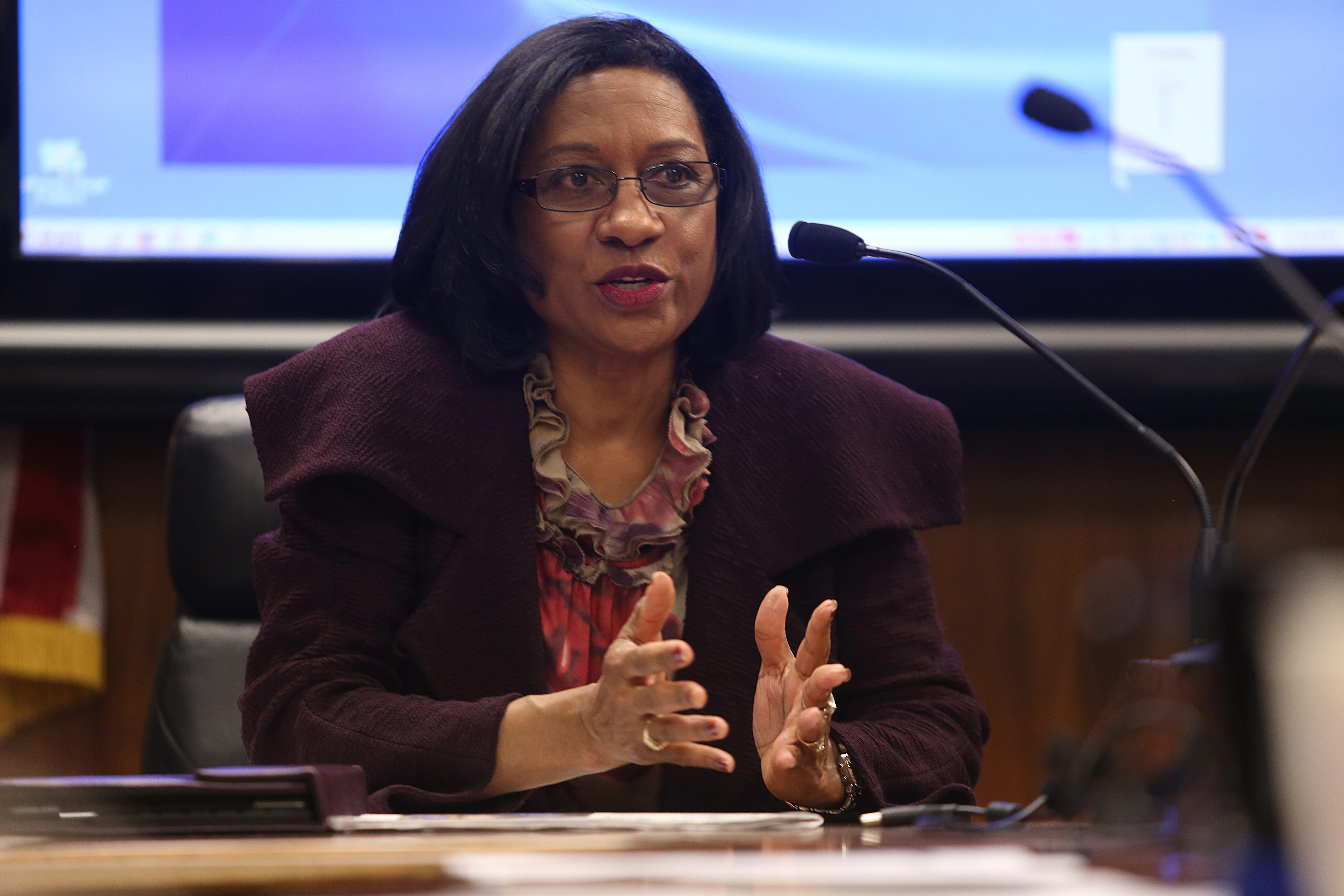 """Pamela Brown, superintendent of Buffalo schools,  sees need for """"drastic measures."""""""